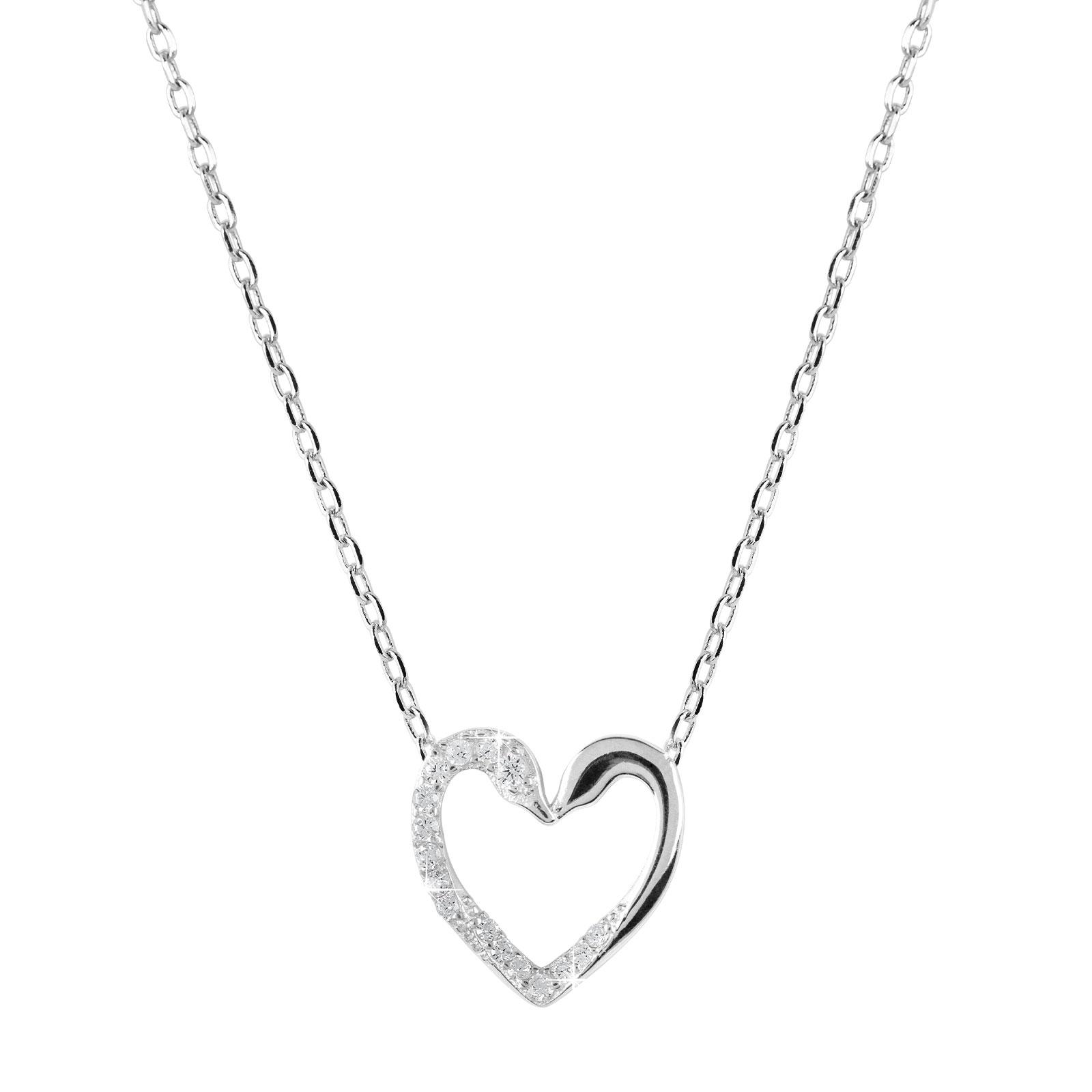Halsband Hjärta Sterling silver 925