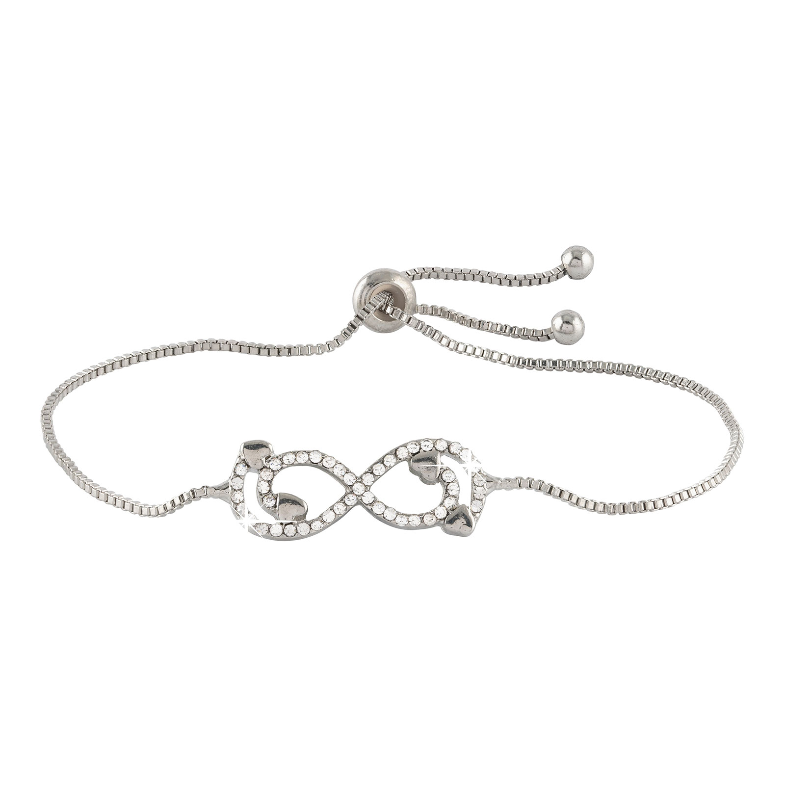 Armband - Silverfärgat med infinitysymbol