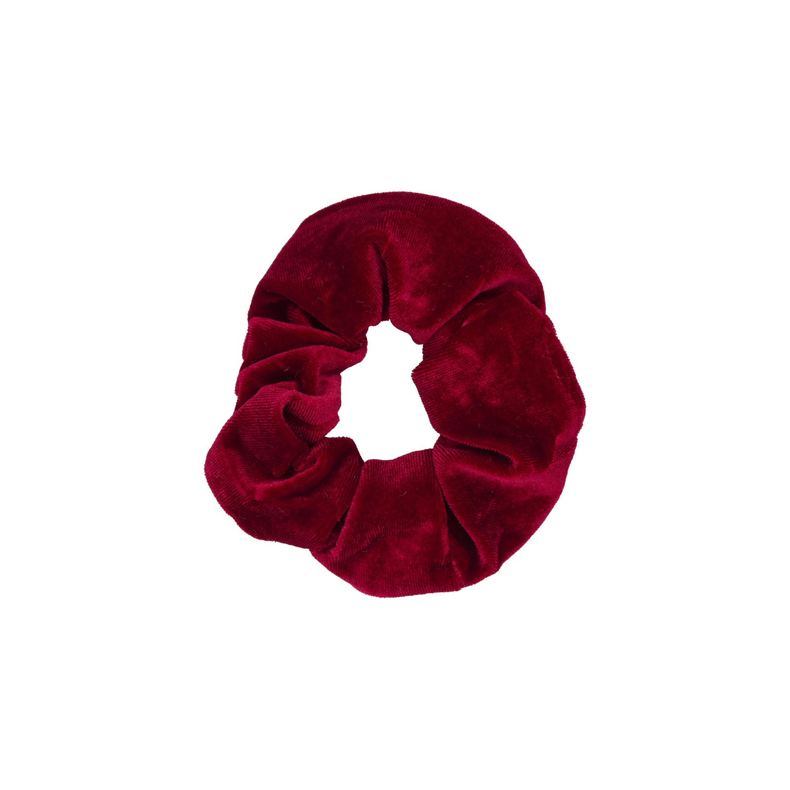 Röd Scrunchie - Medium