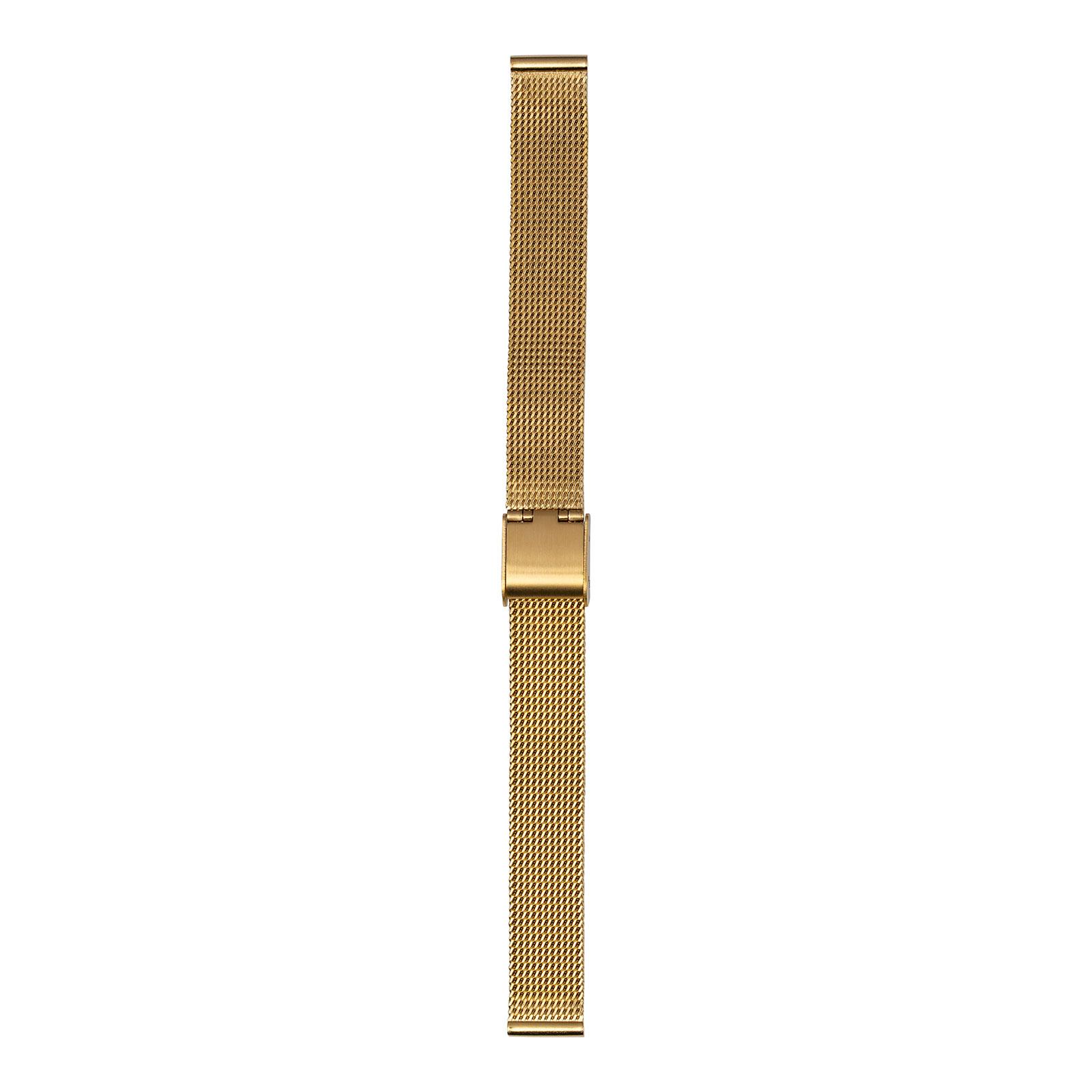 Guldfärgat meshband 14 mm