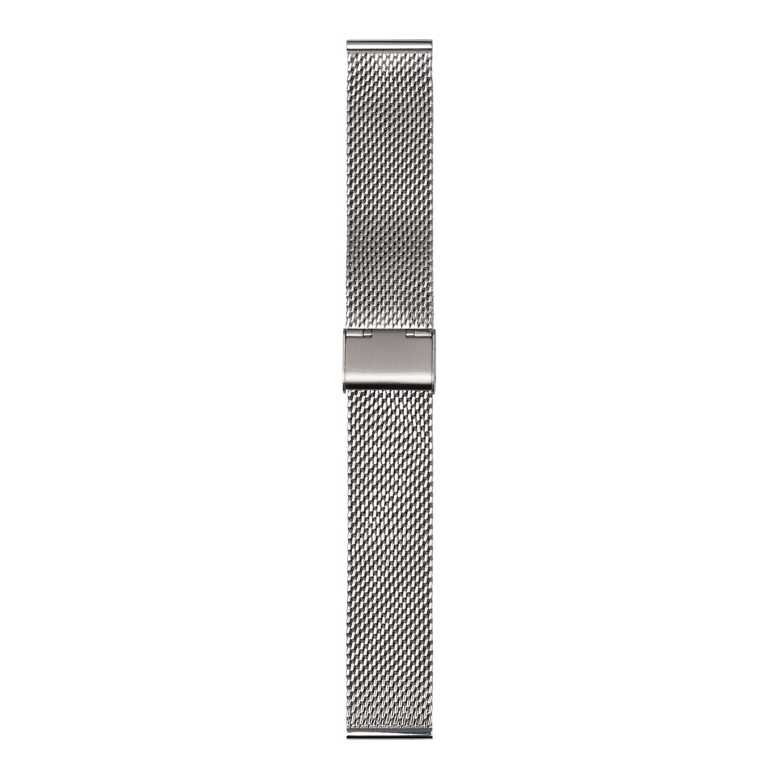 Silverfärgat meshband 22 mm