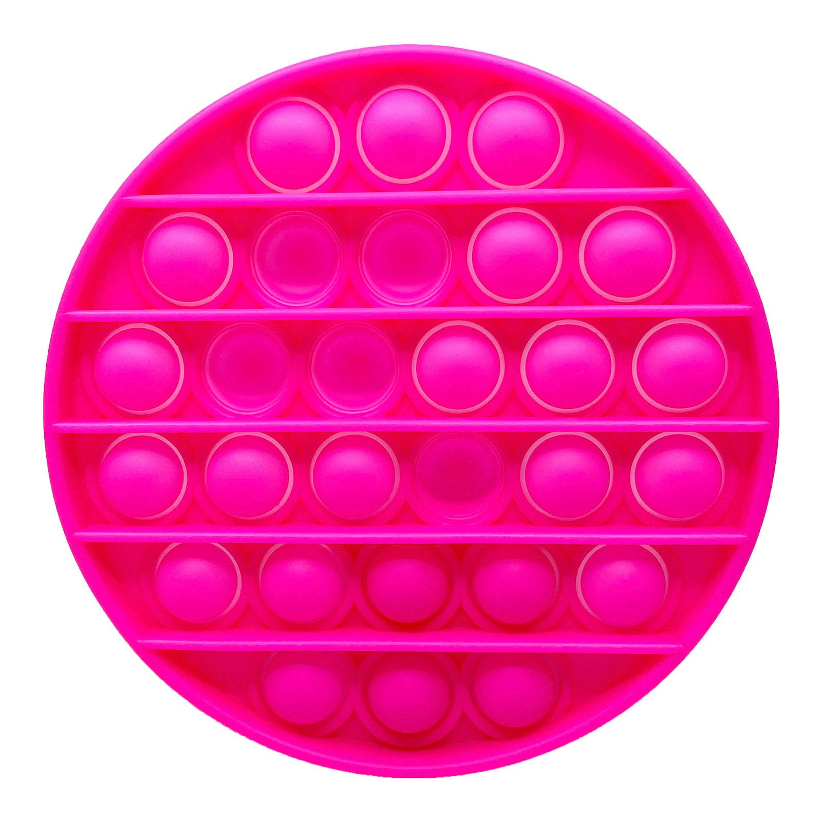 Pop It Fidget - rund Rosa