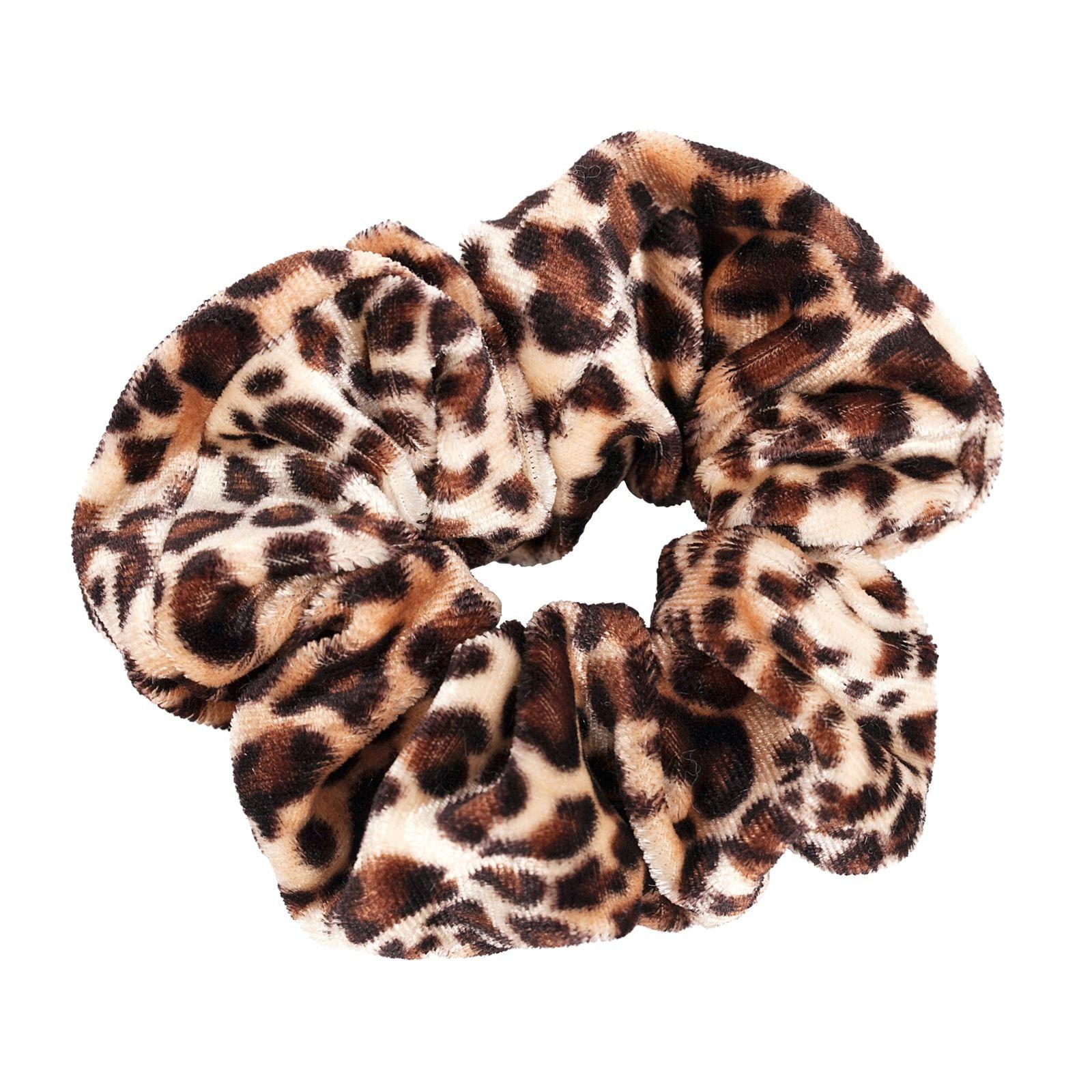 Scrunchie - medium leopard