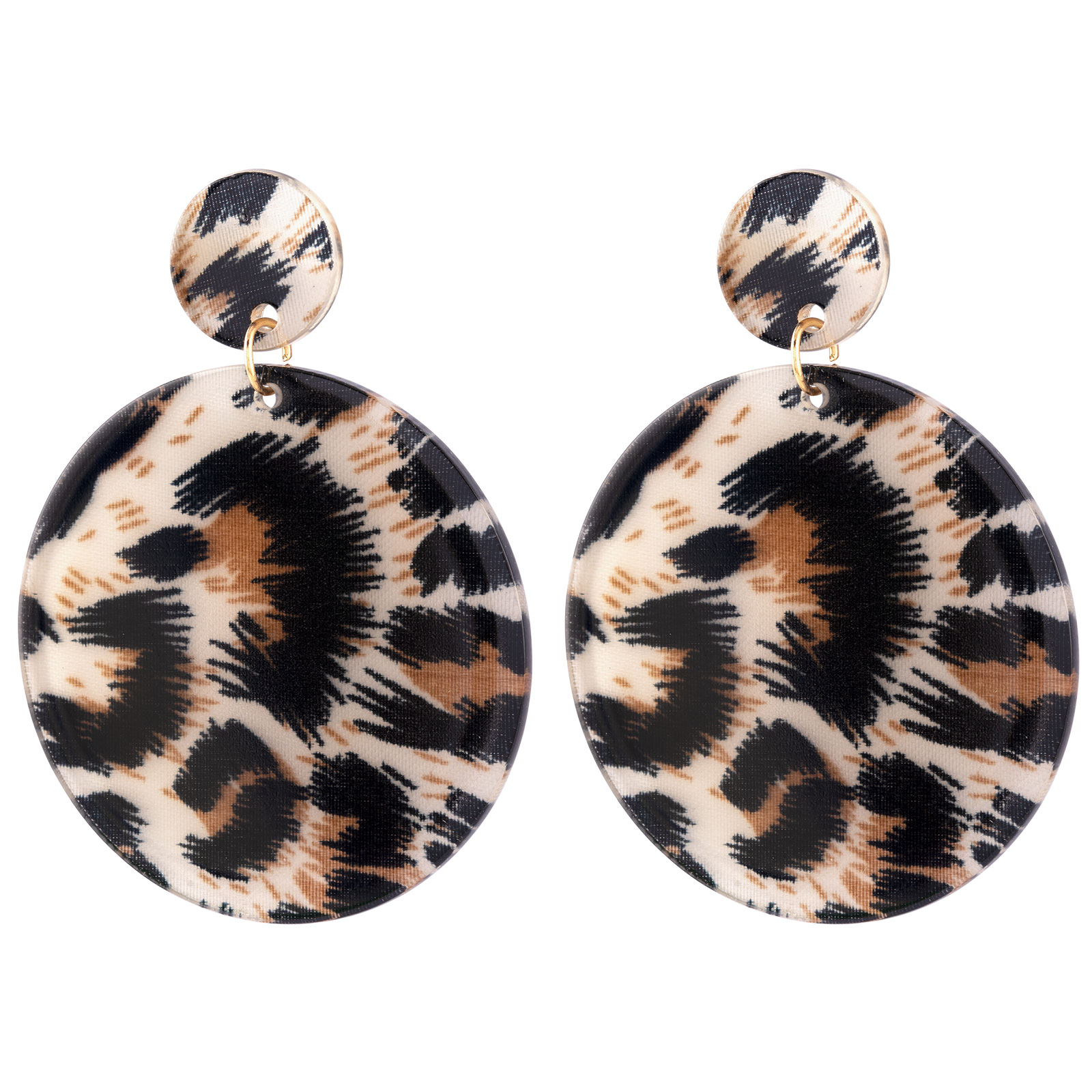 Montini Örhängen Leopard