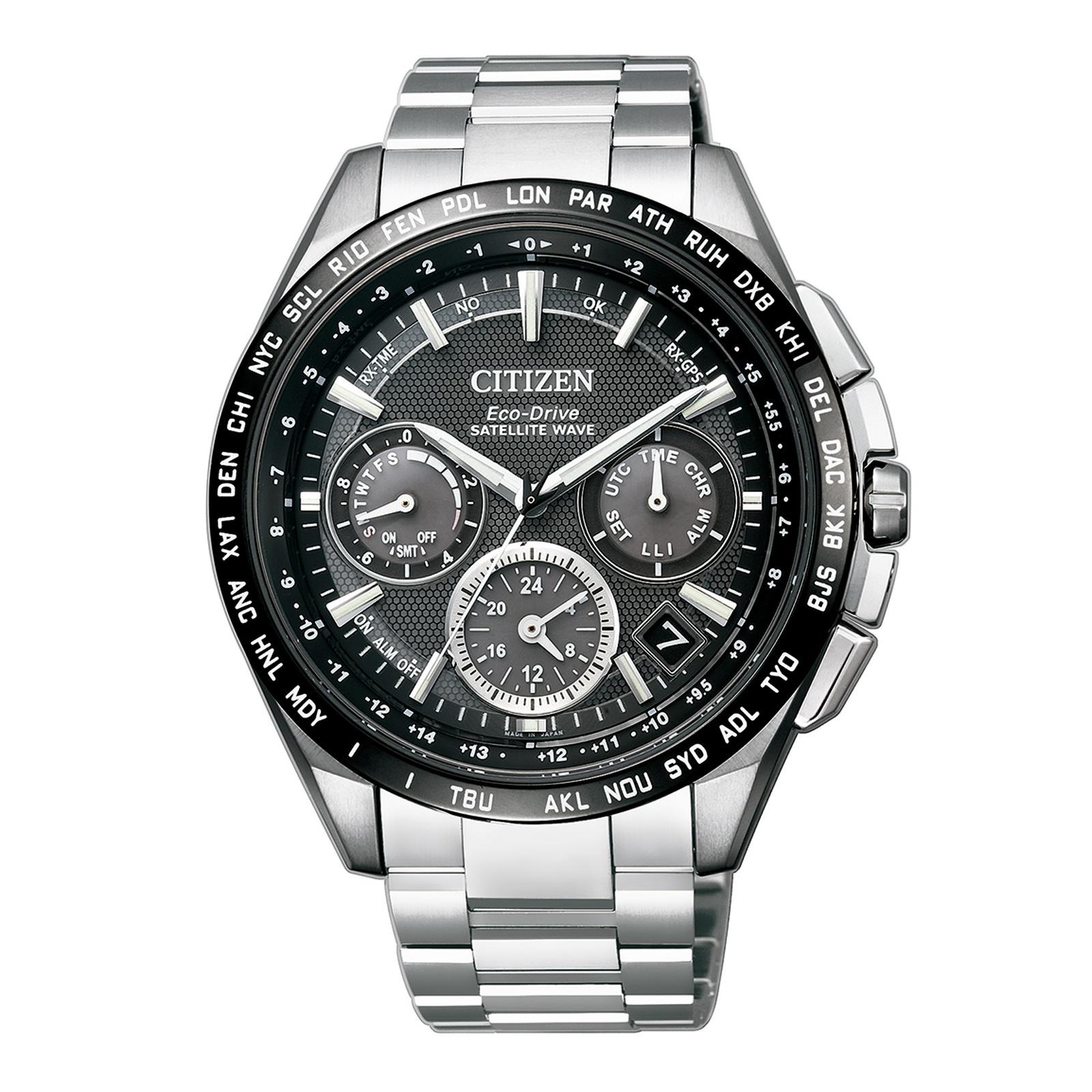 Citizen Super Titan Satellite Wave-GPS CC9015-54E