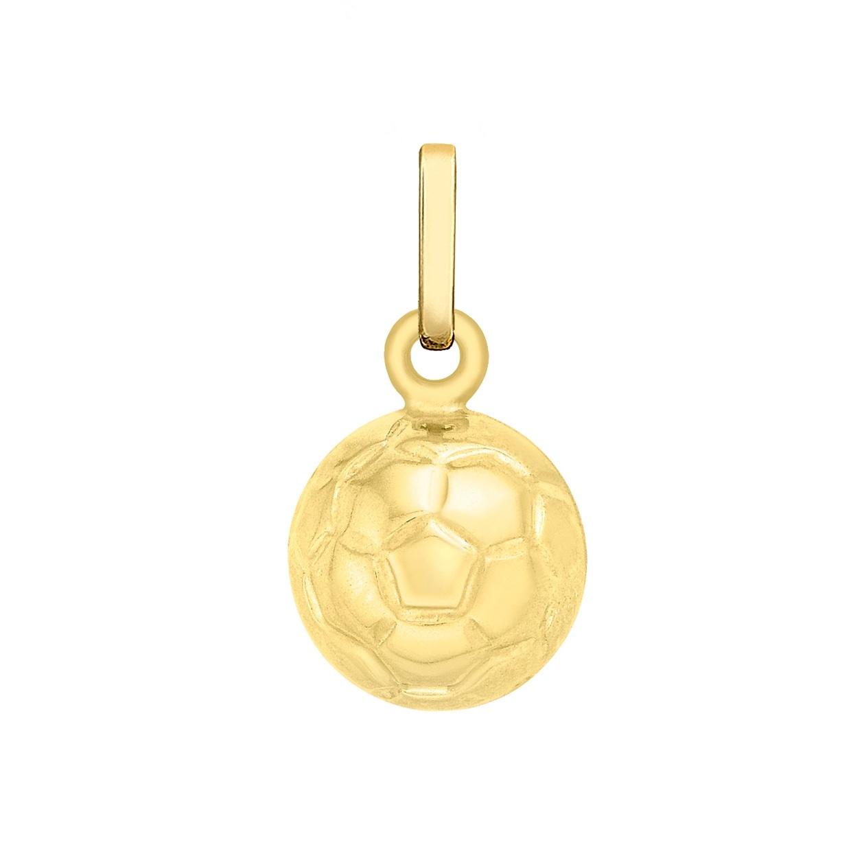 Berlock för barn 9K Guld - Fotboll