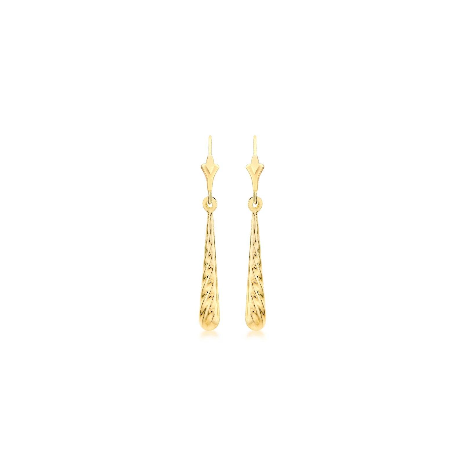 Örhängen 9K Guld- droppar