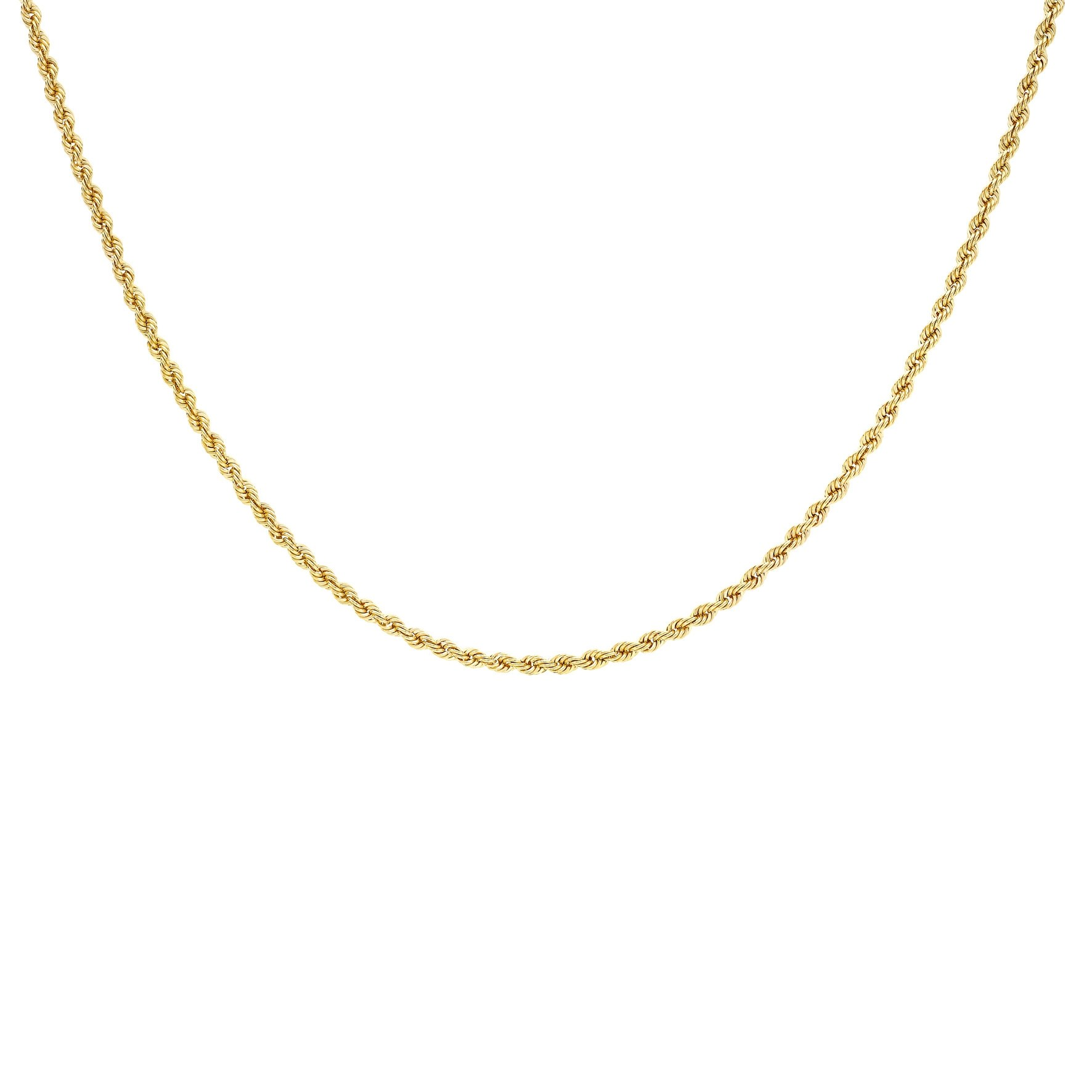 Halsband 9K Guld - Repkedja 46 cm