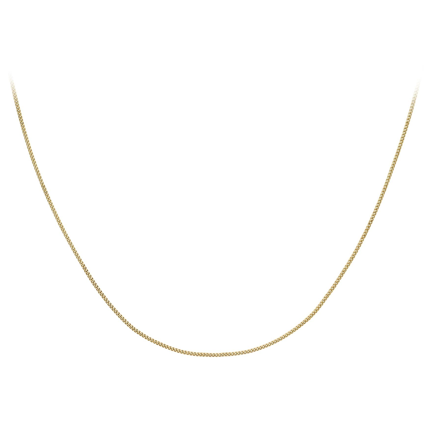 Halsband 9K Guld 41-46 cm