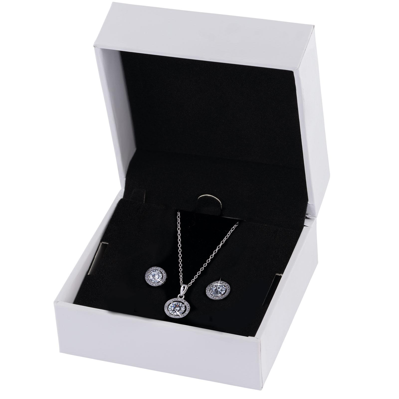 Smyckesset i Sterling Silver 925 - örhängen och halsband