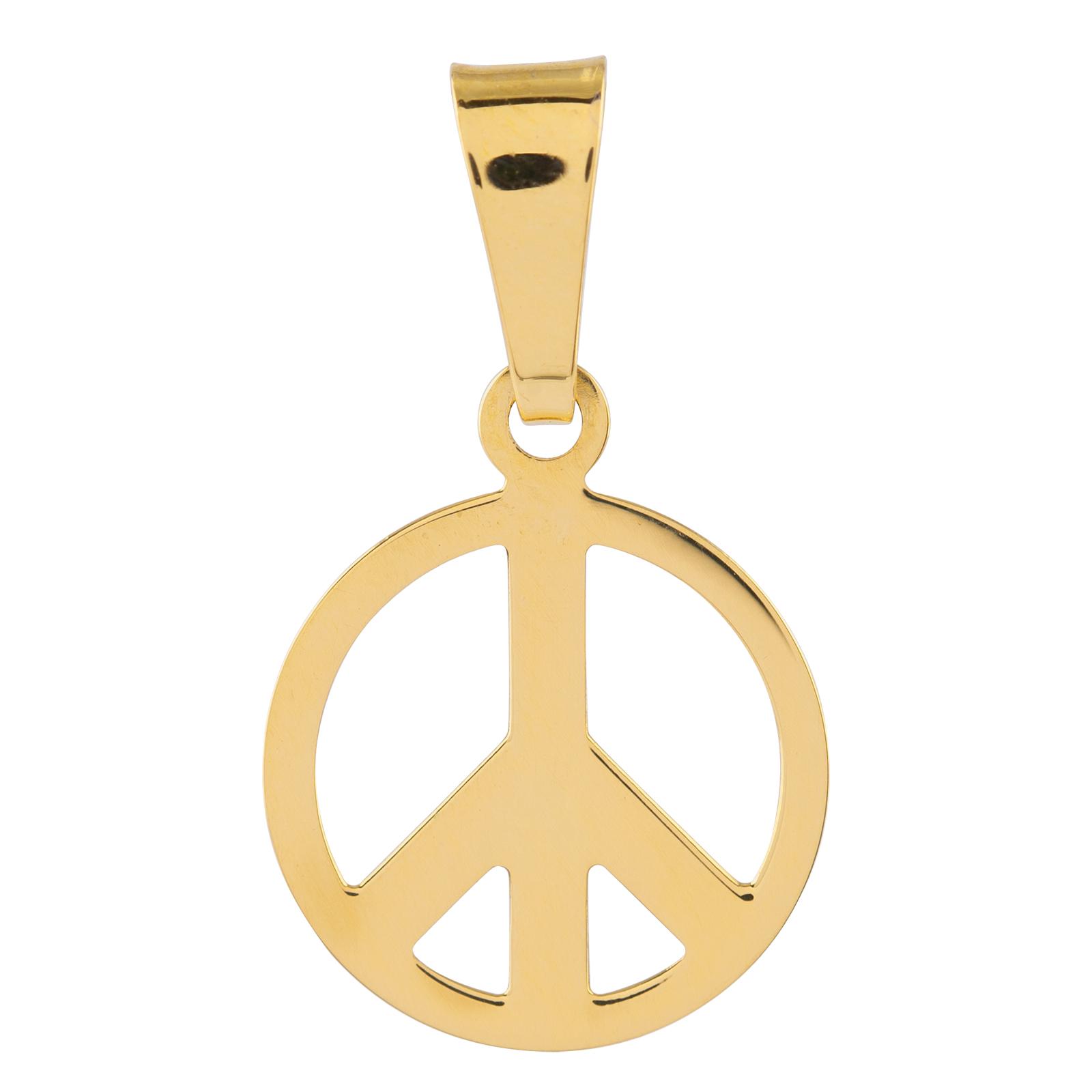 18K guld hängsmycke Peace