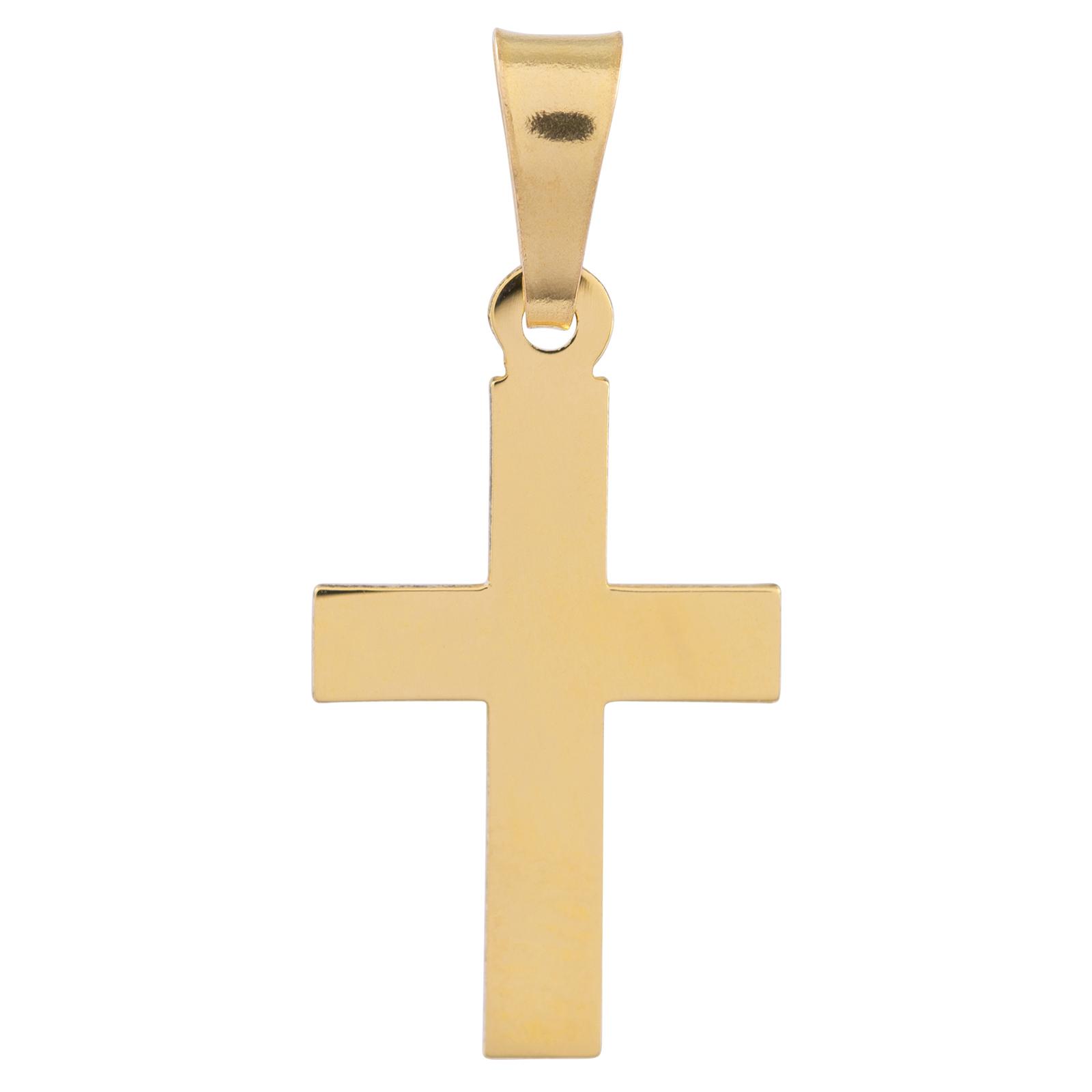 Berlock 18k guld - Kors
