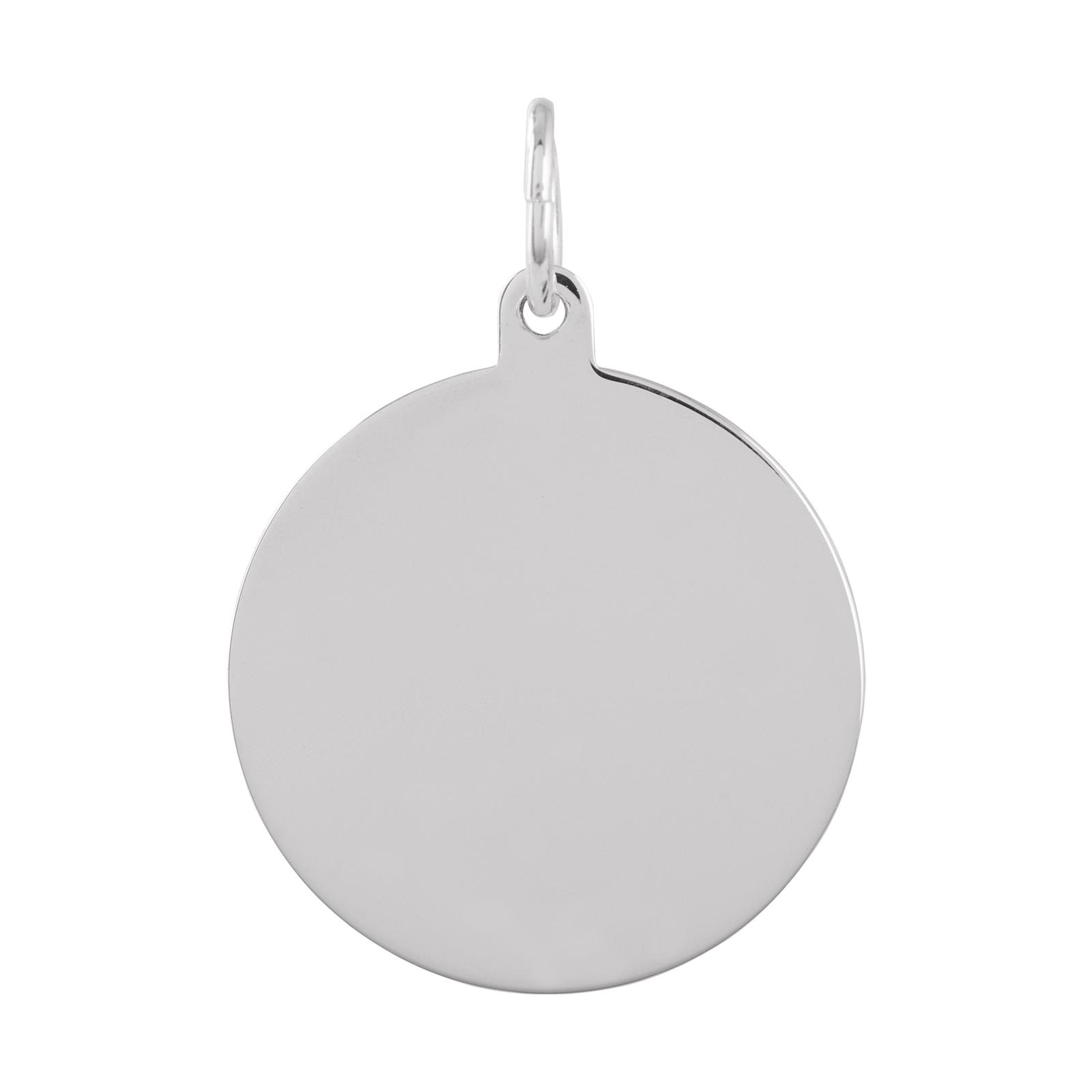 Berlock Silver -Blankt hänge 16 mm