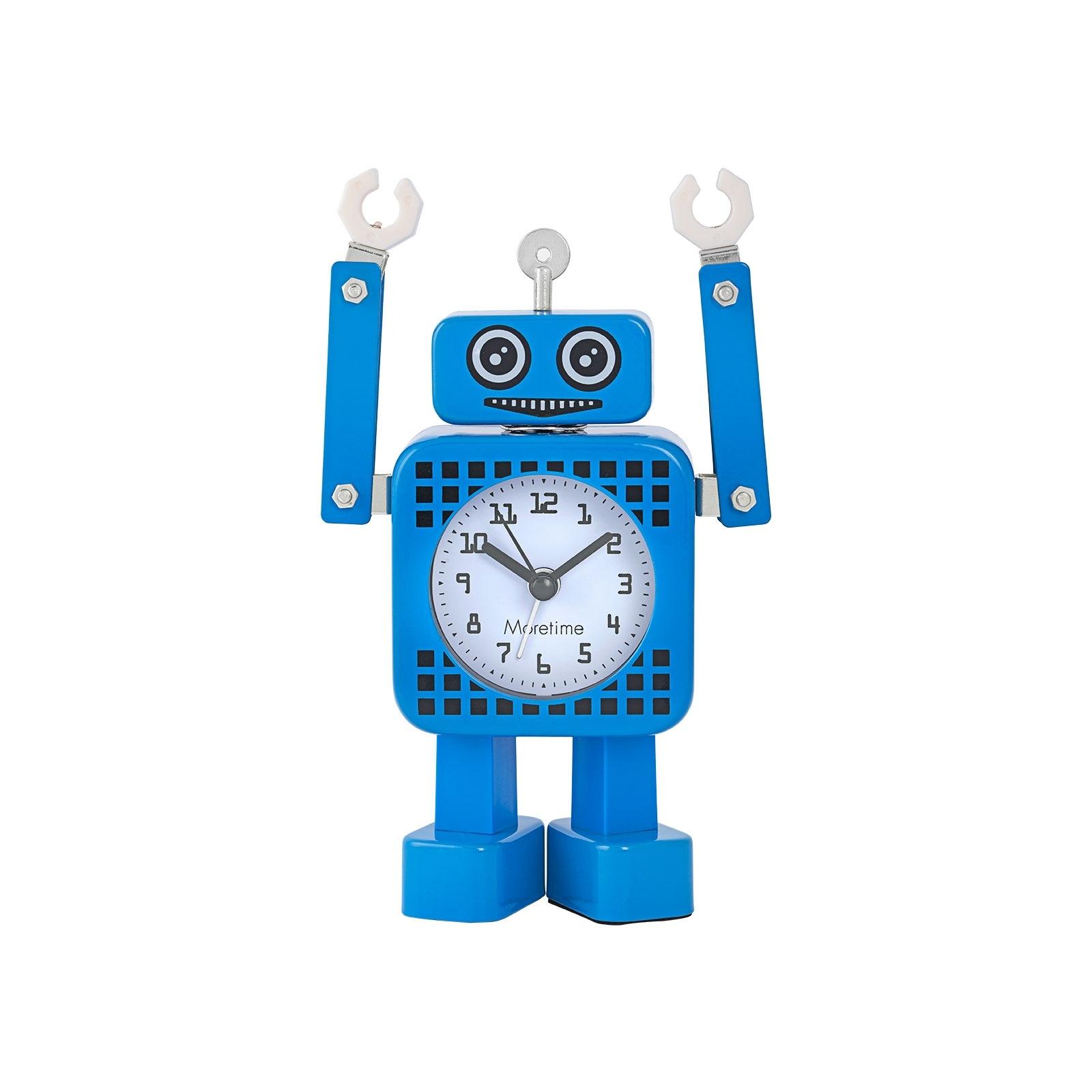 Väckarklocka - Blå Robot