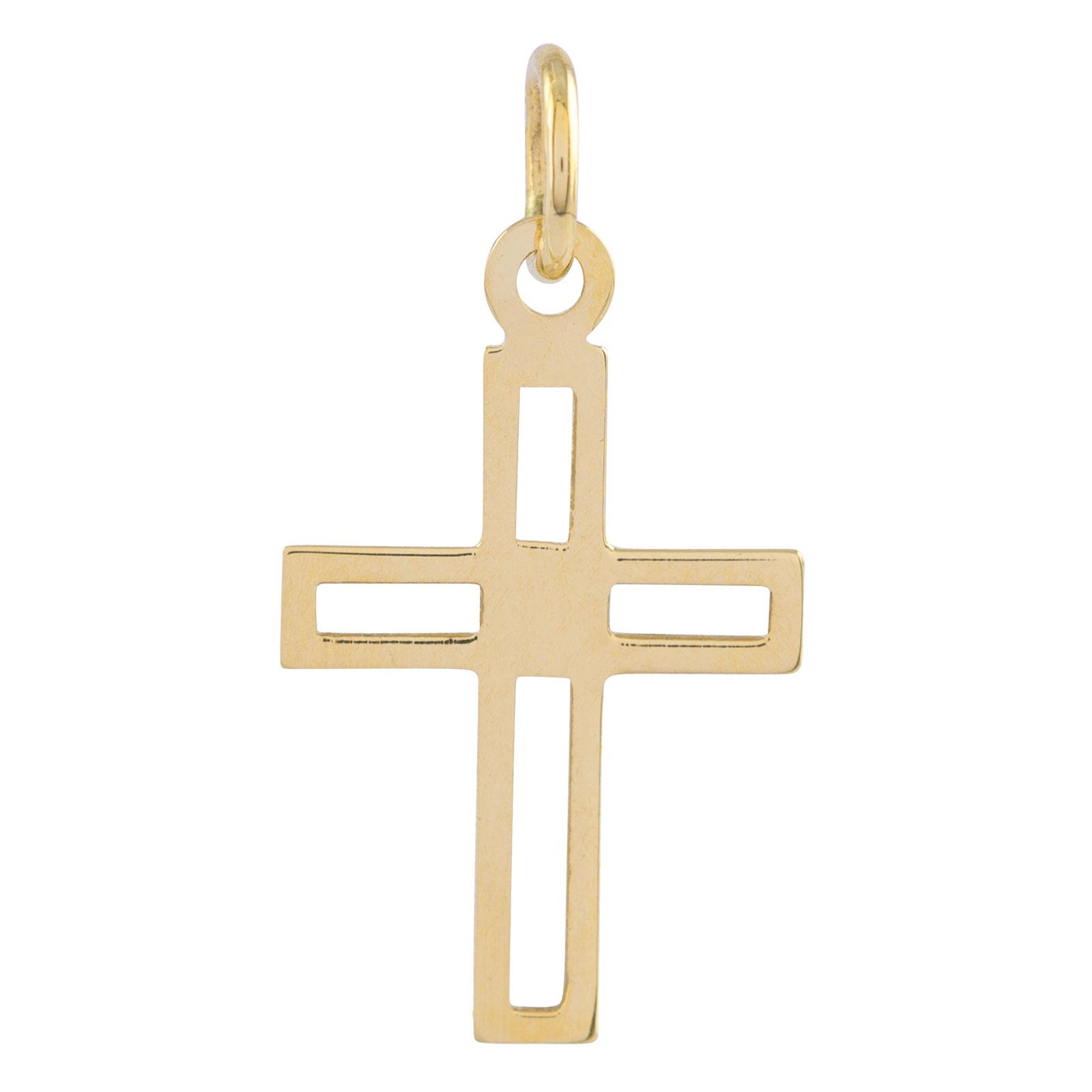 Berlock 18k guld -Kors