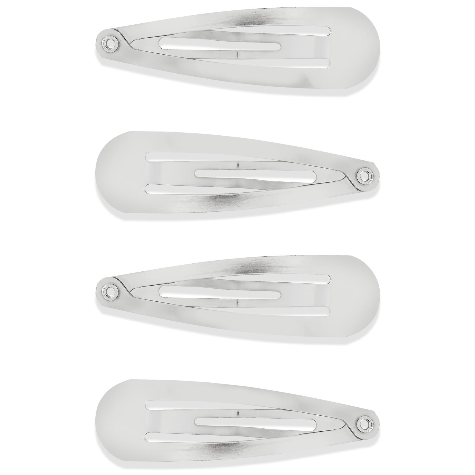 4-pack Hårspännen Silver
