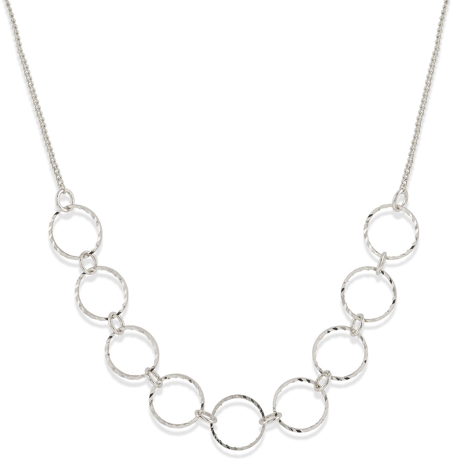 Halsband med cirklar Montini