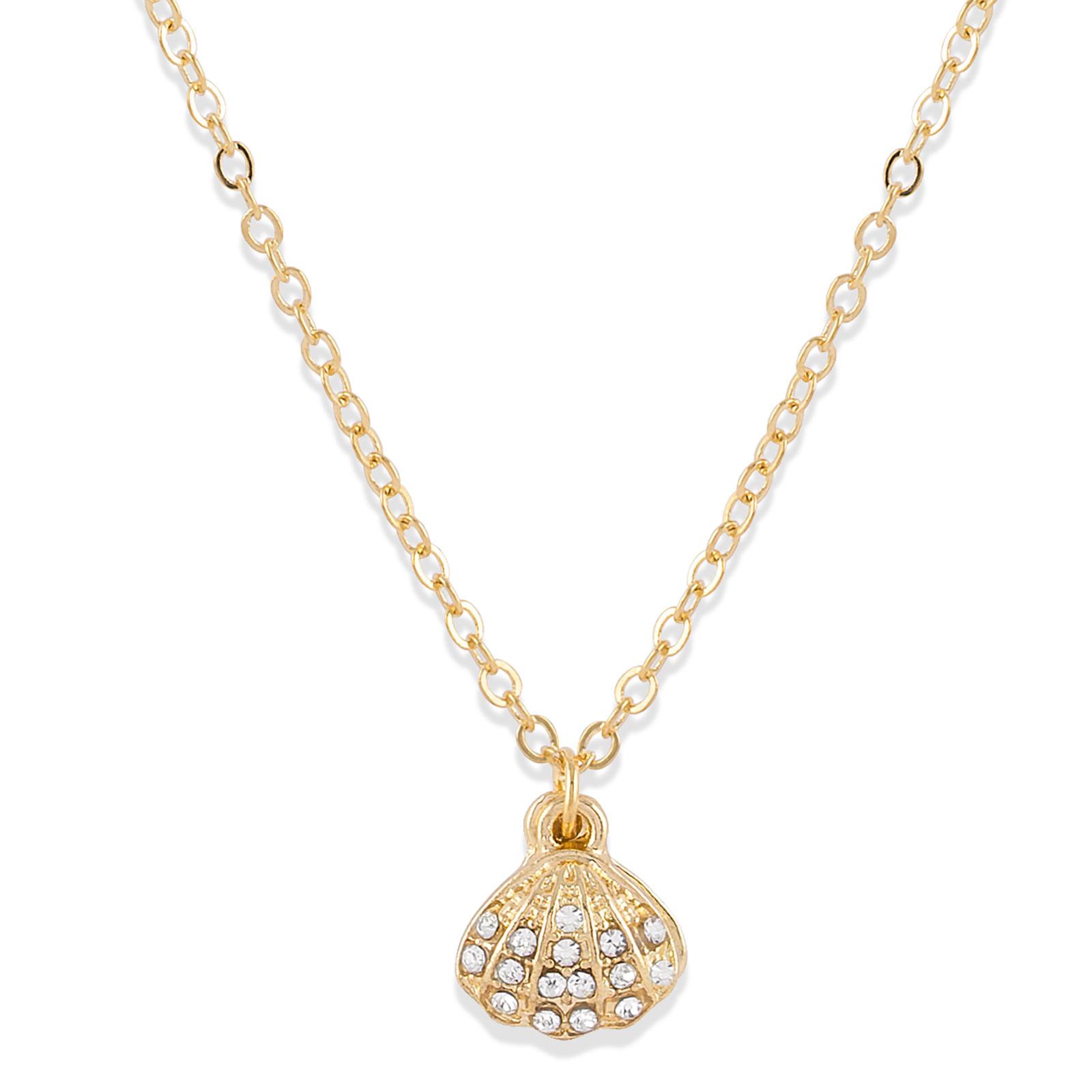 Halsband snäcka med pärla Montini
