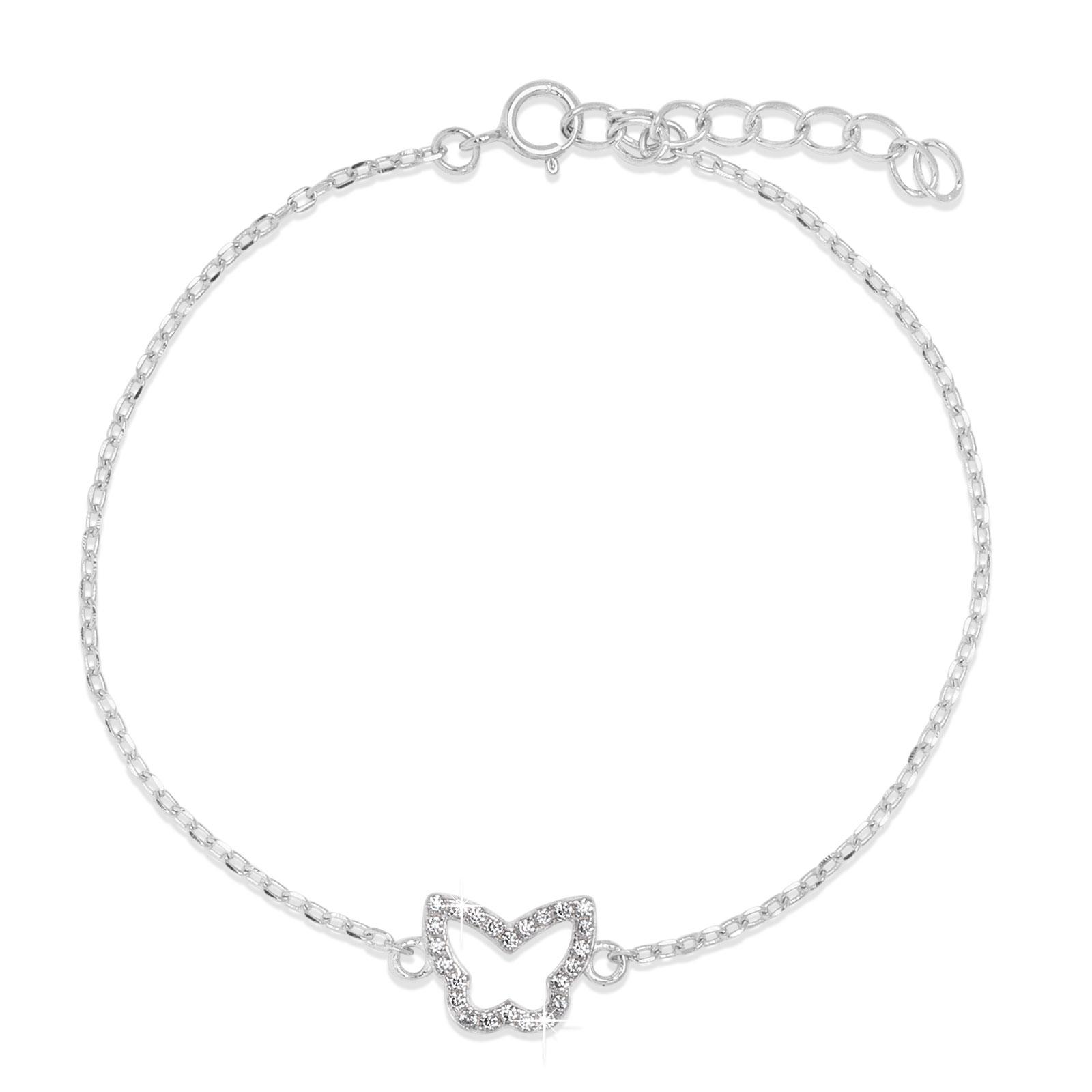 Armband Fjäril Sterling Silver 925