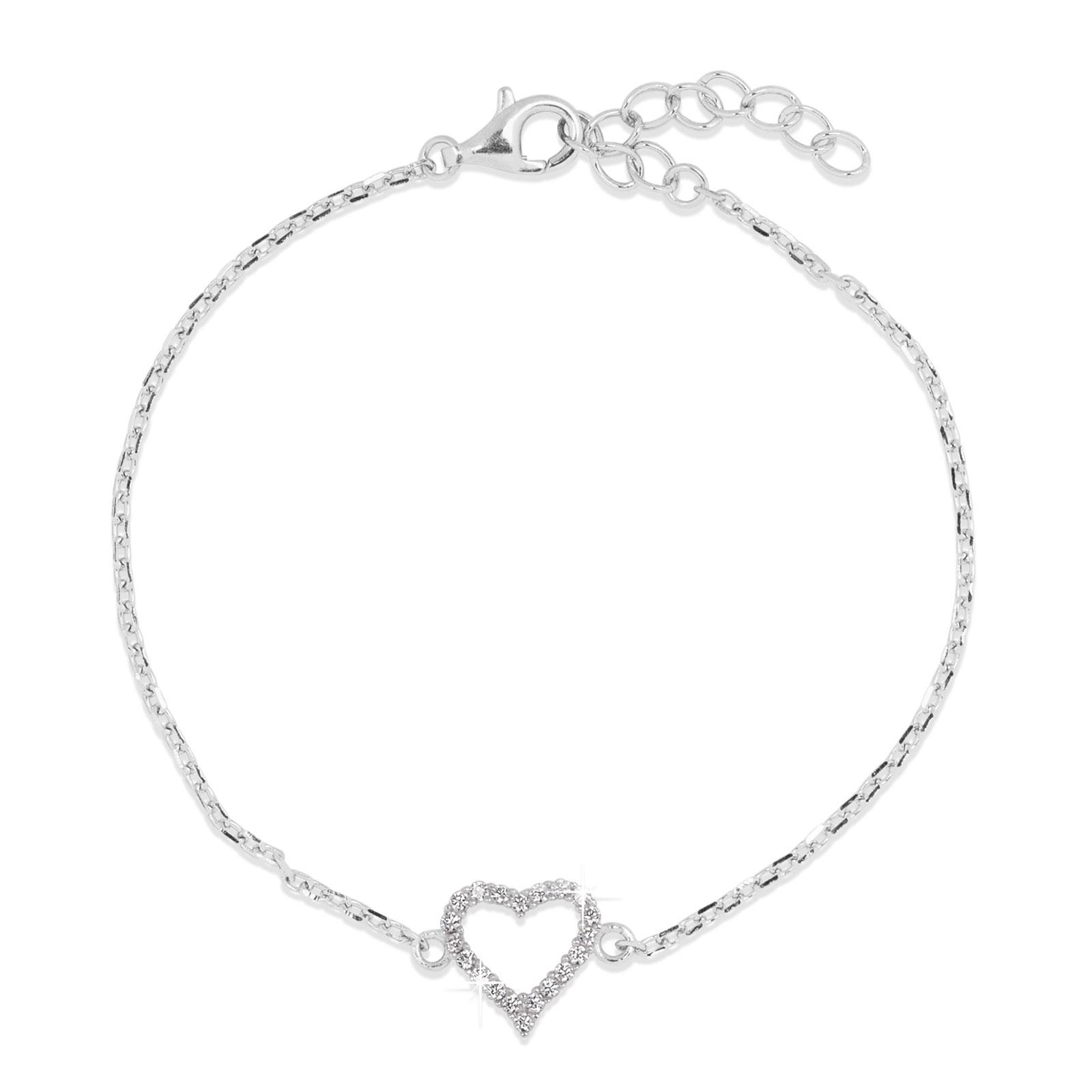 Armband Hjärta Sterling Silver 925