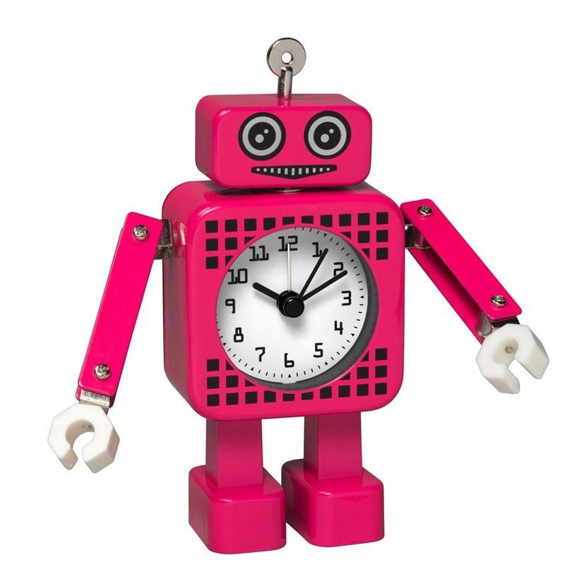 Väckarklocka - Rosa Robot