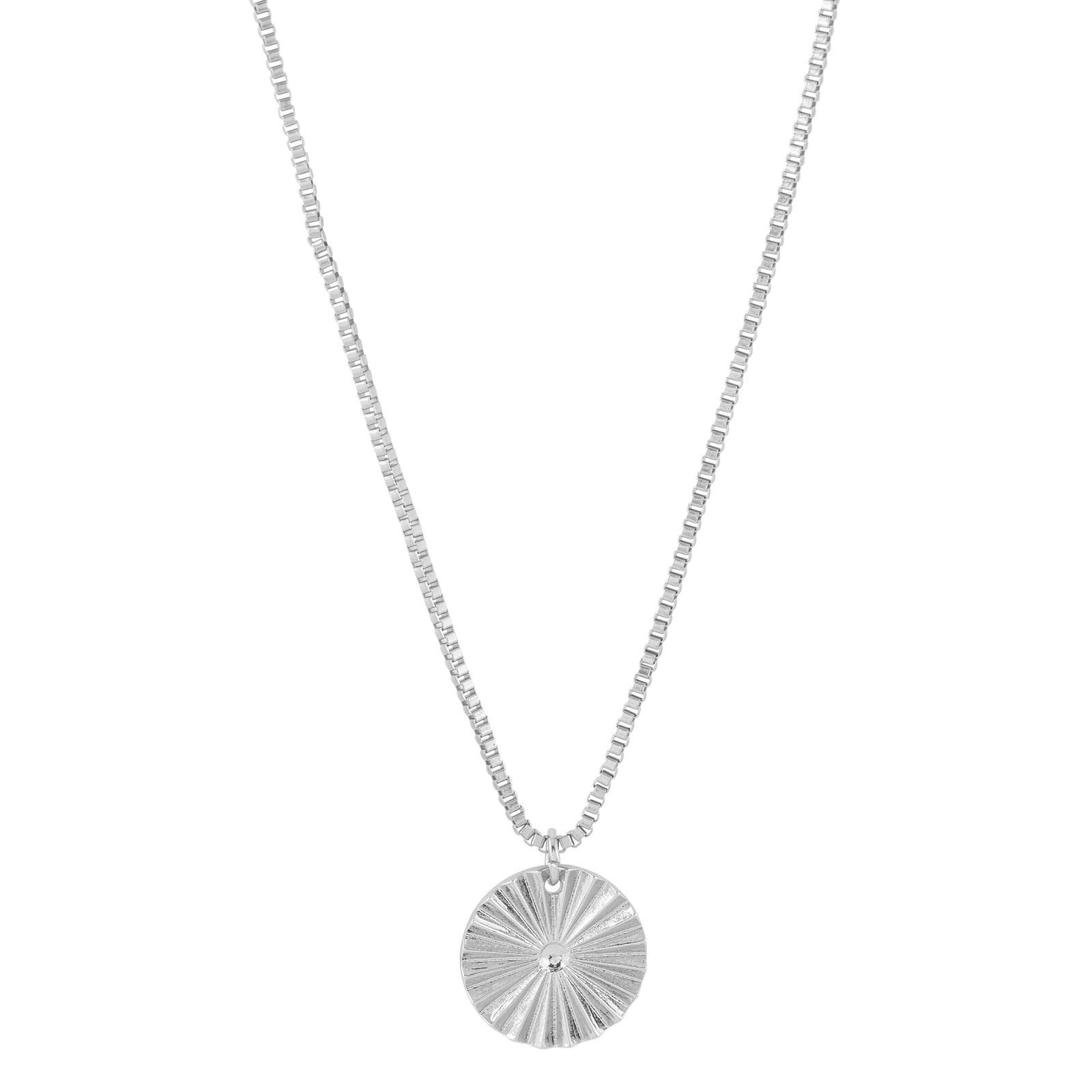 Halsband med berlock silver Montini