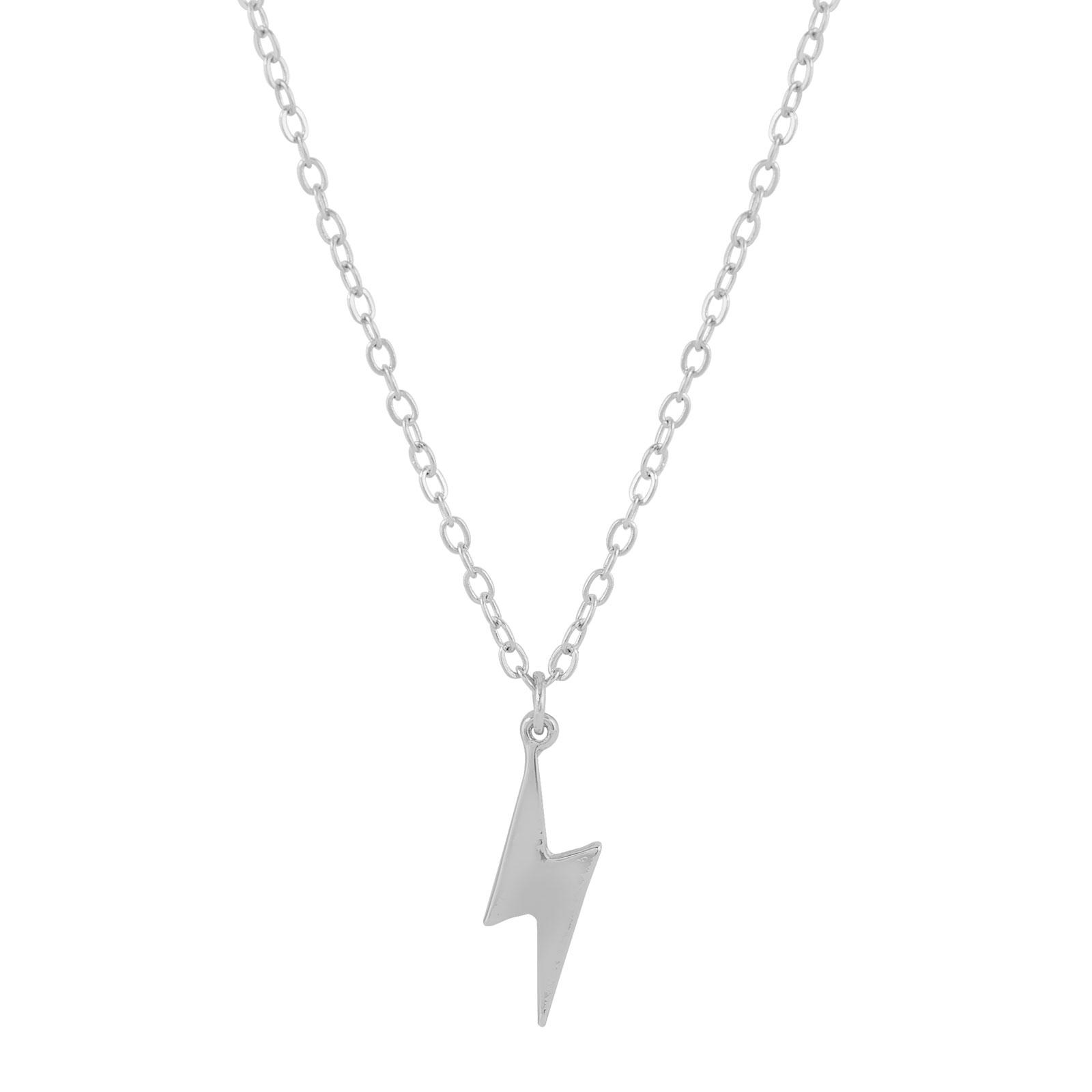 Halsband med blixt silver Montini