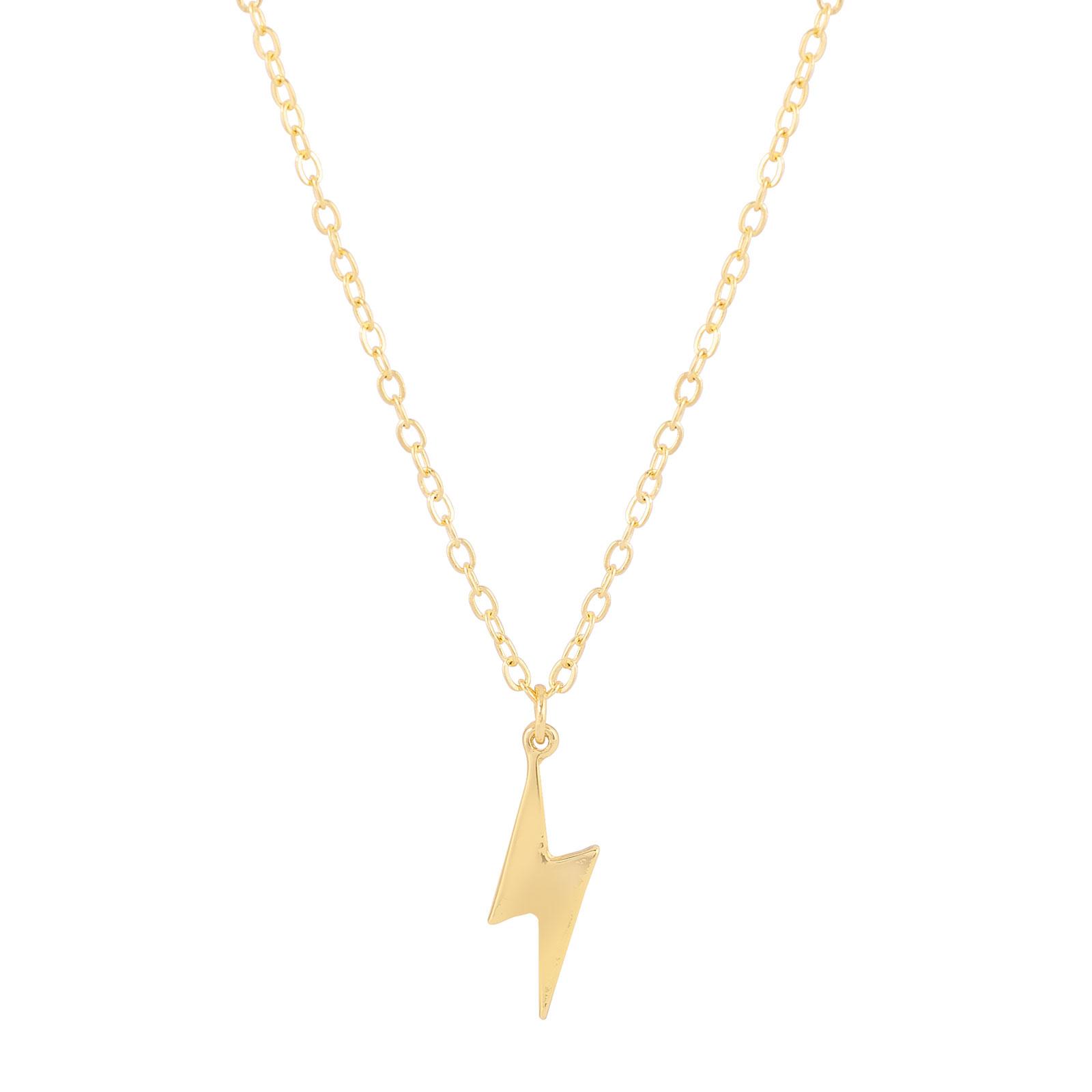 Halsband med blixt Guld Montini