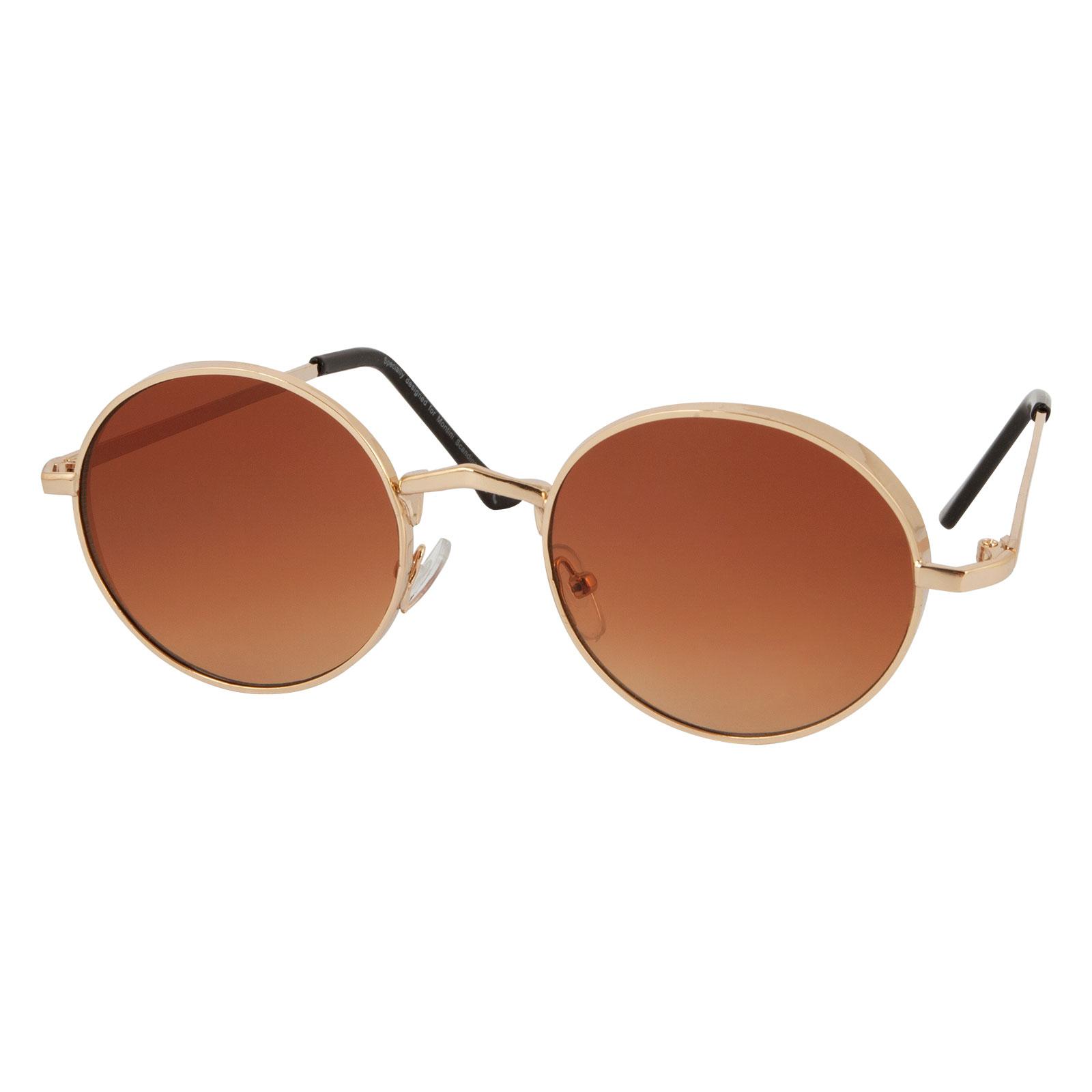 Solglasögon Runda Bruna