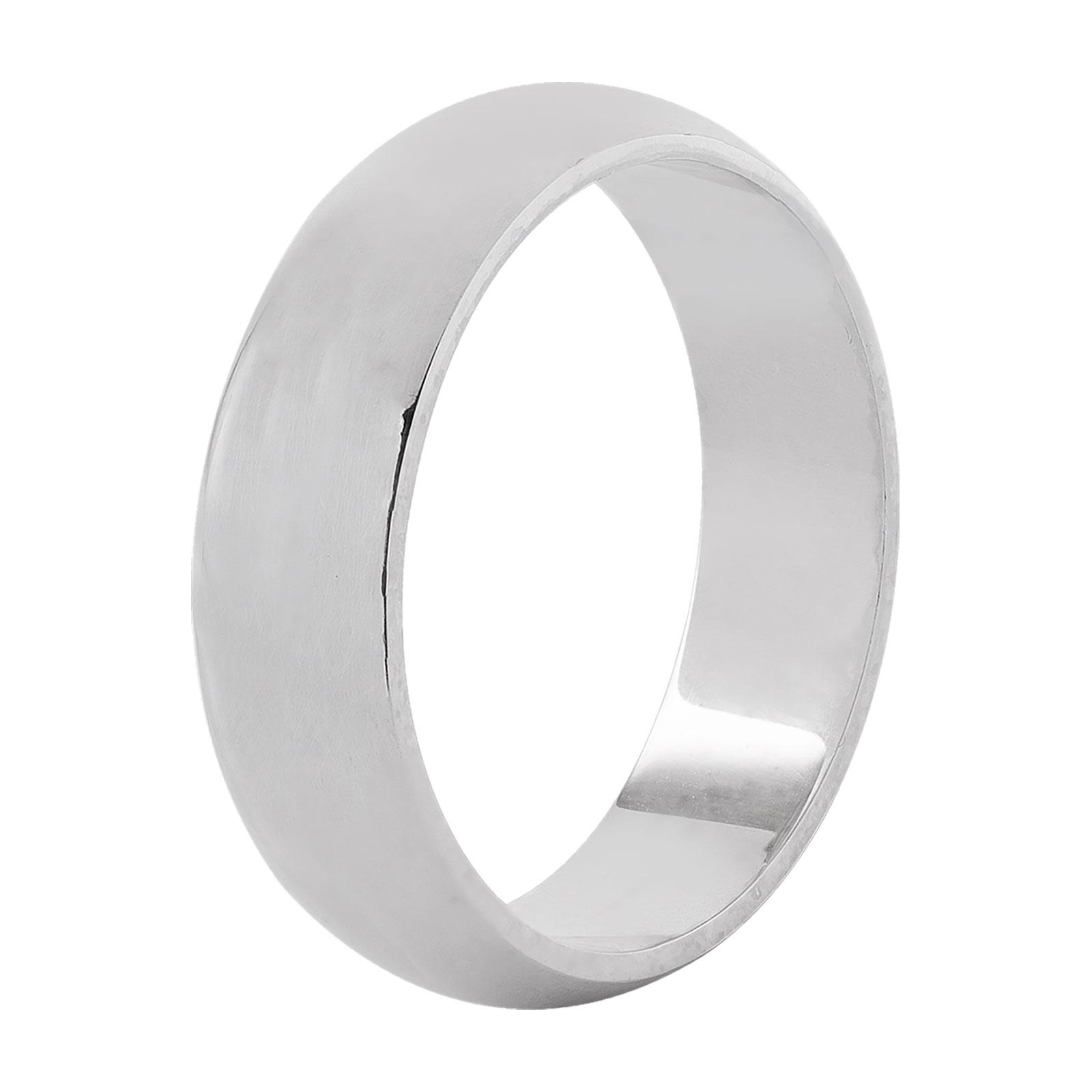 Ring silver - 4 mm herr