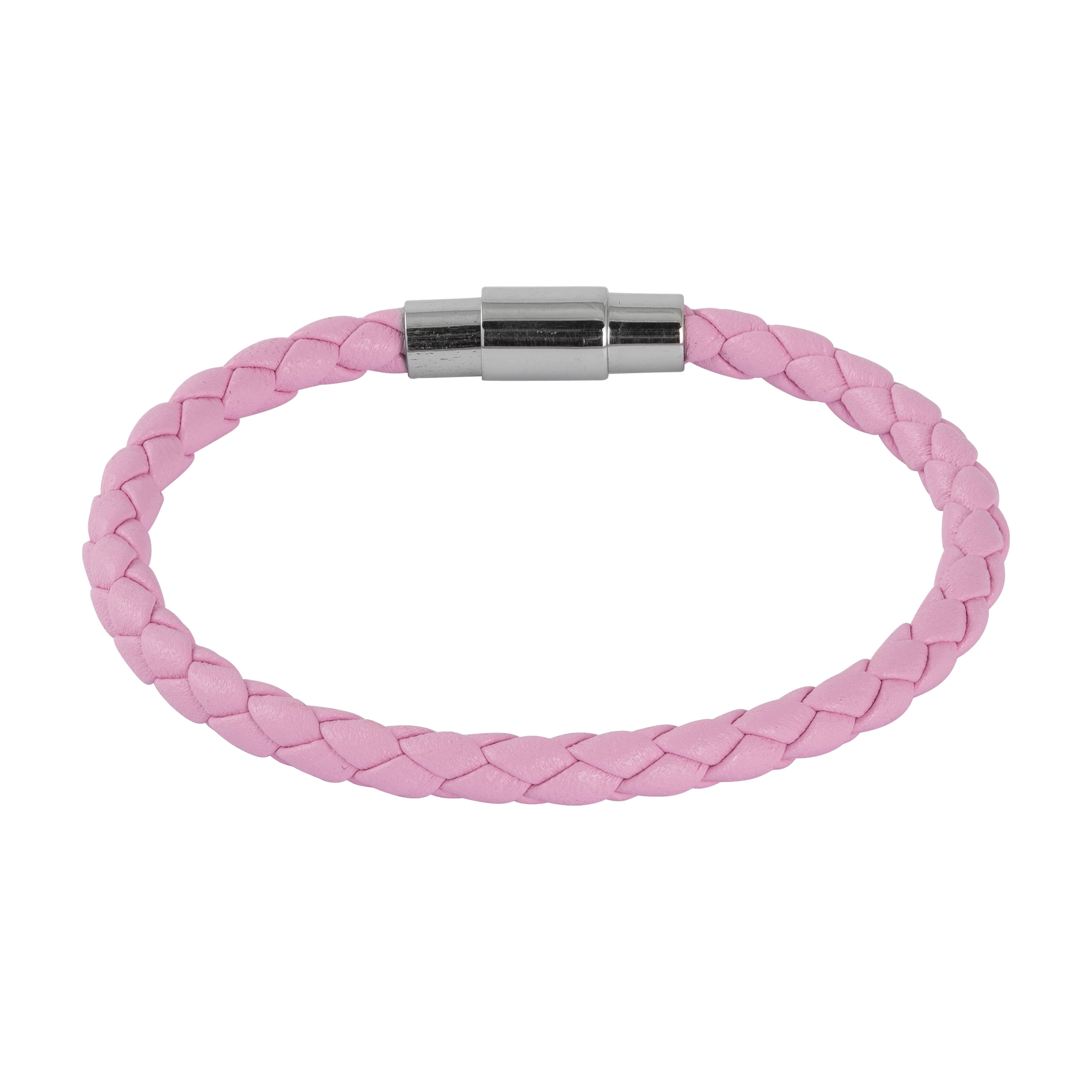 Armband i rosa läder - Barn