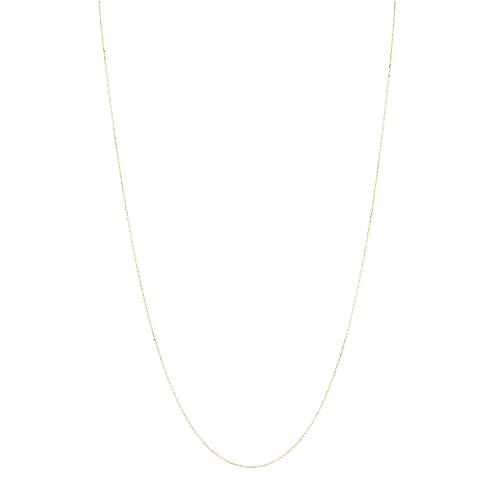 Halsband 18k guld - Ankarkedja 45+5 cm
