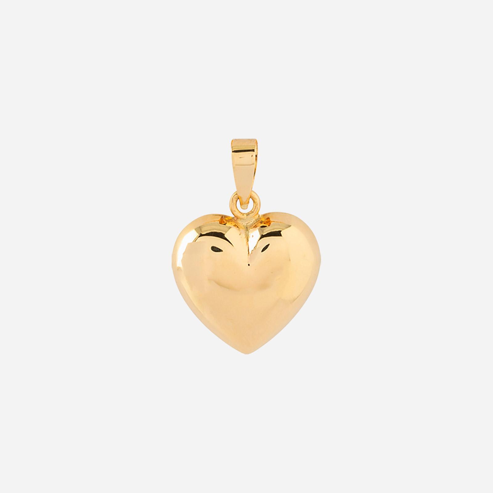 Berlock 18k guld - Hjärta 7 mm