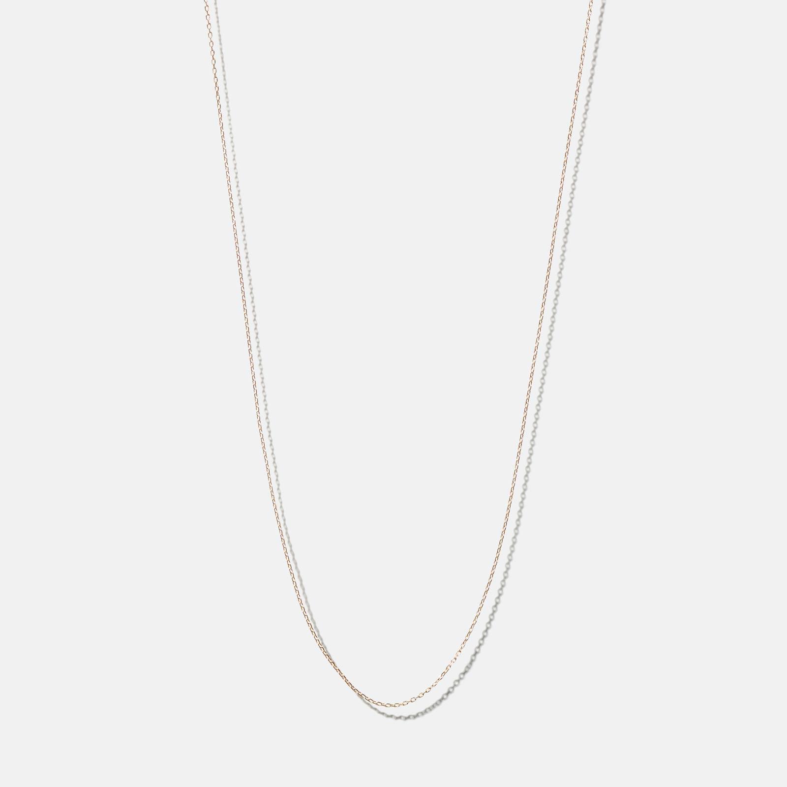 Halsband 18k guld - ankarkedja 42 cm