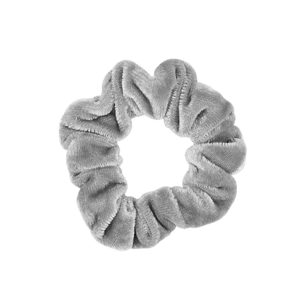 Grå Scrunchie Small