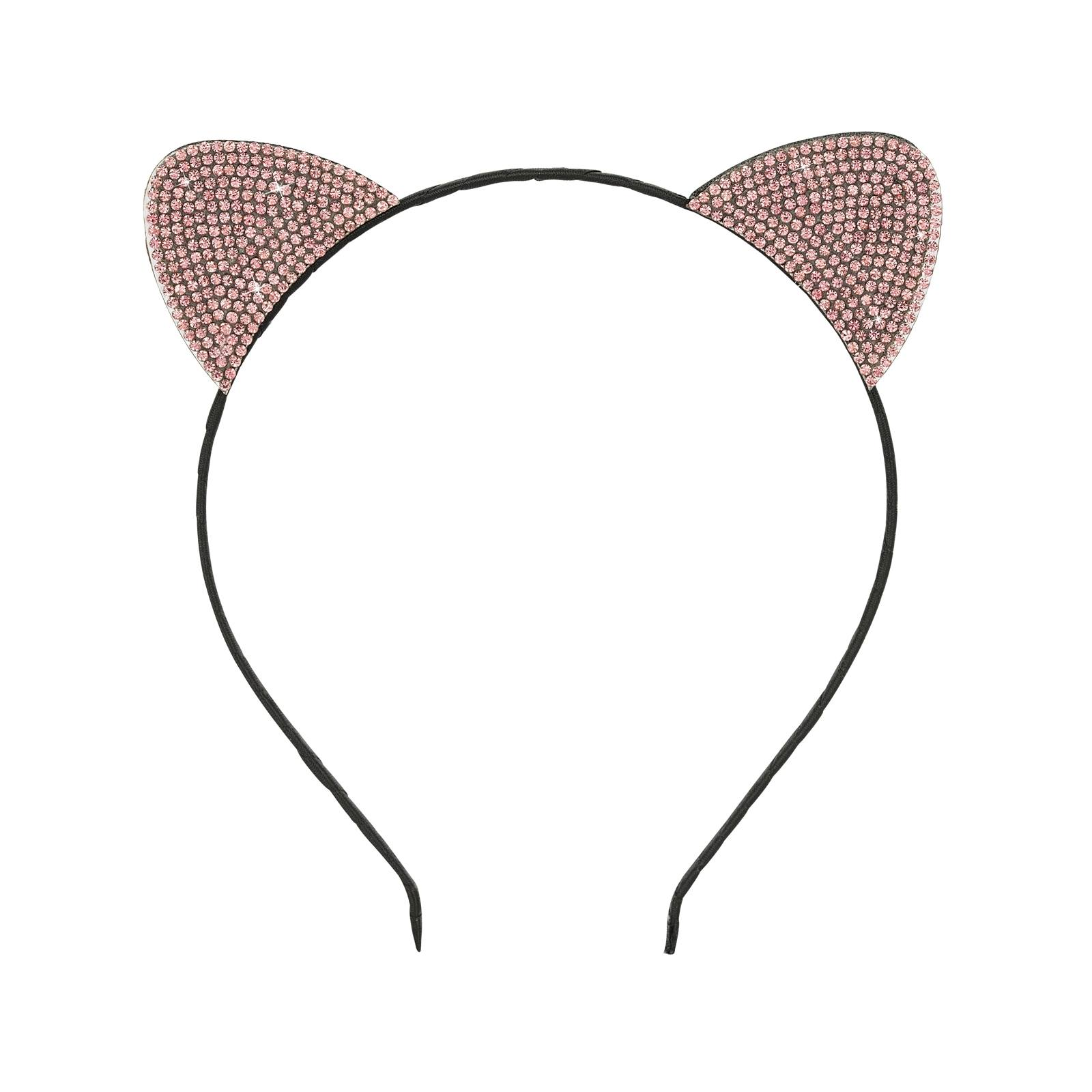 Diadem Cat Ears Pink