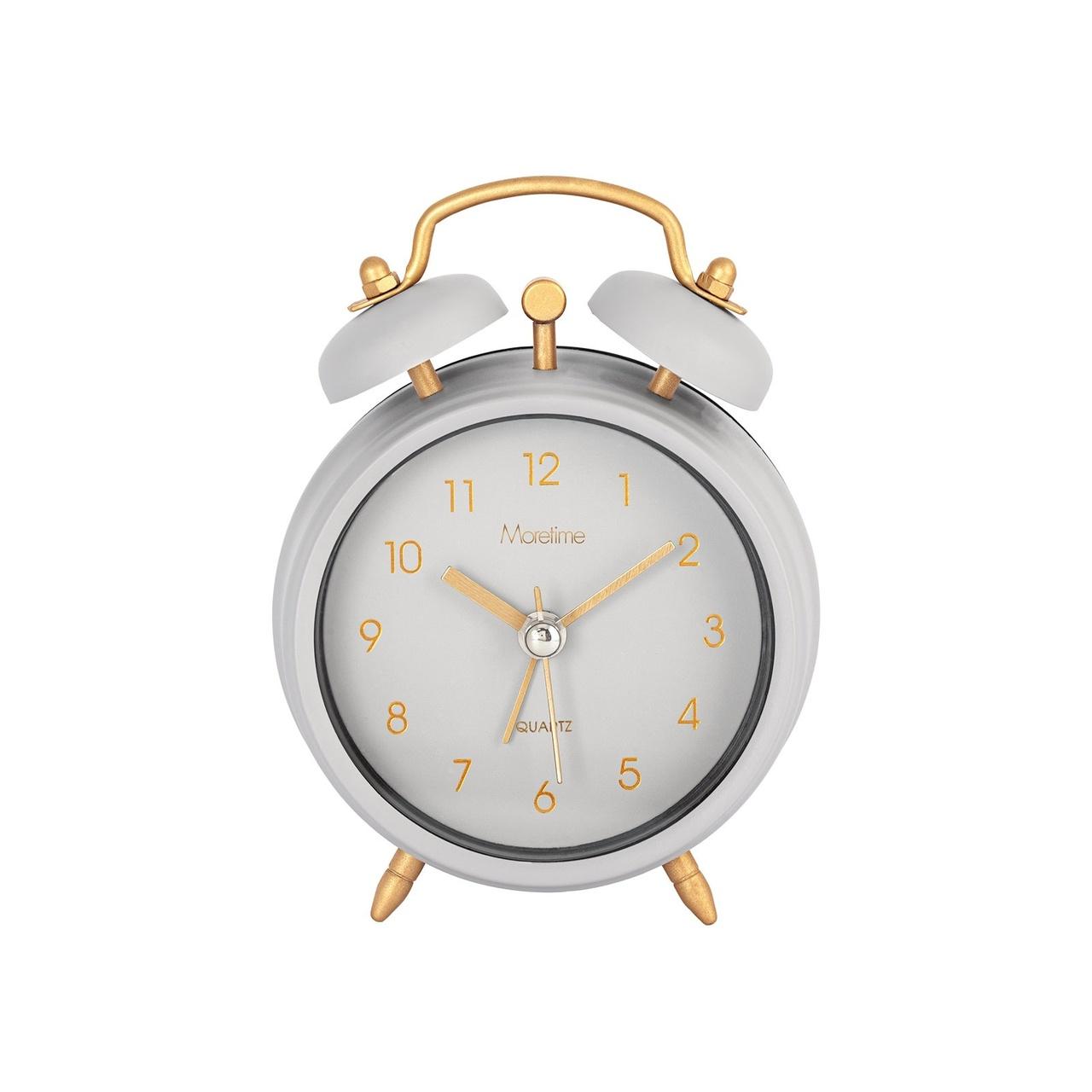 Shoppa Moretime Väckarklocka Ljusgrå på uropenn.se!