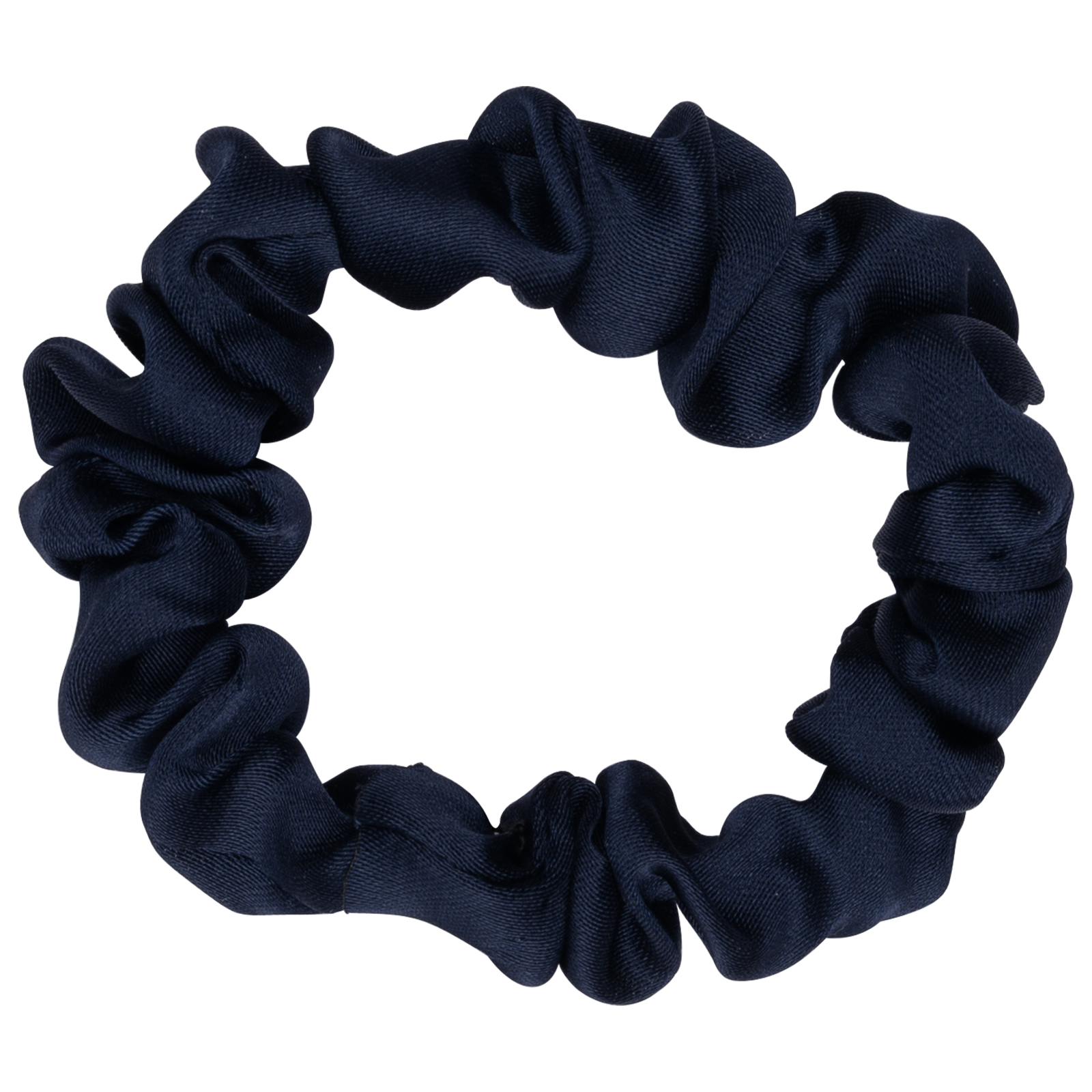 Mini-Scrunchie Blå