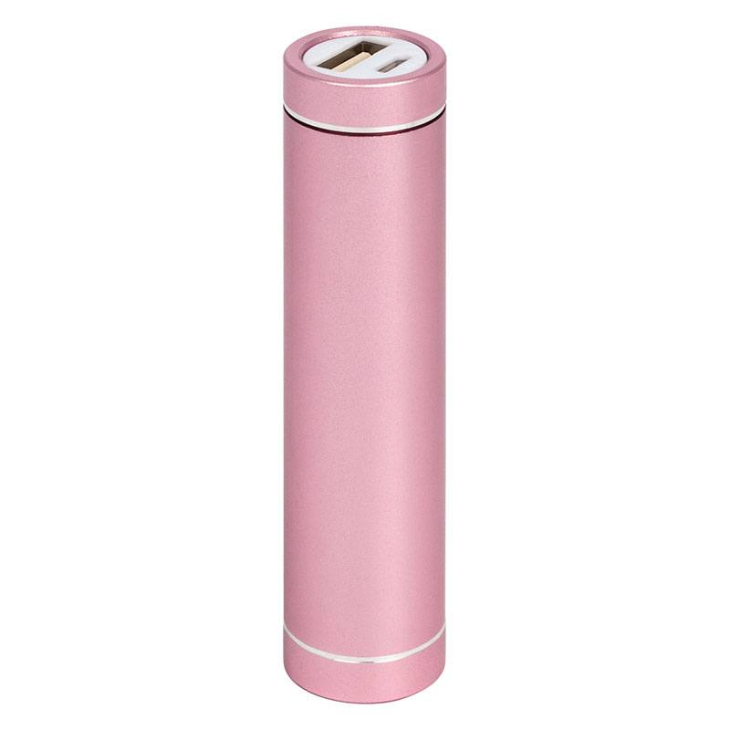 Powerbank Ljusrosa