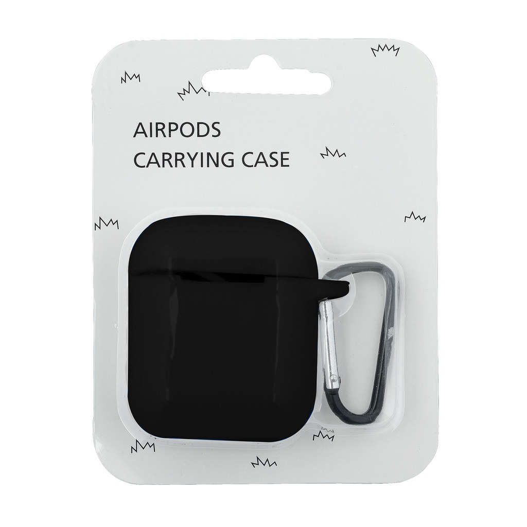 Airpods access -Silikonfodral Svart