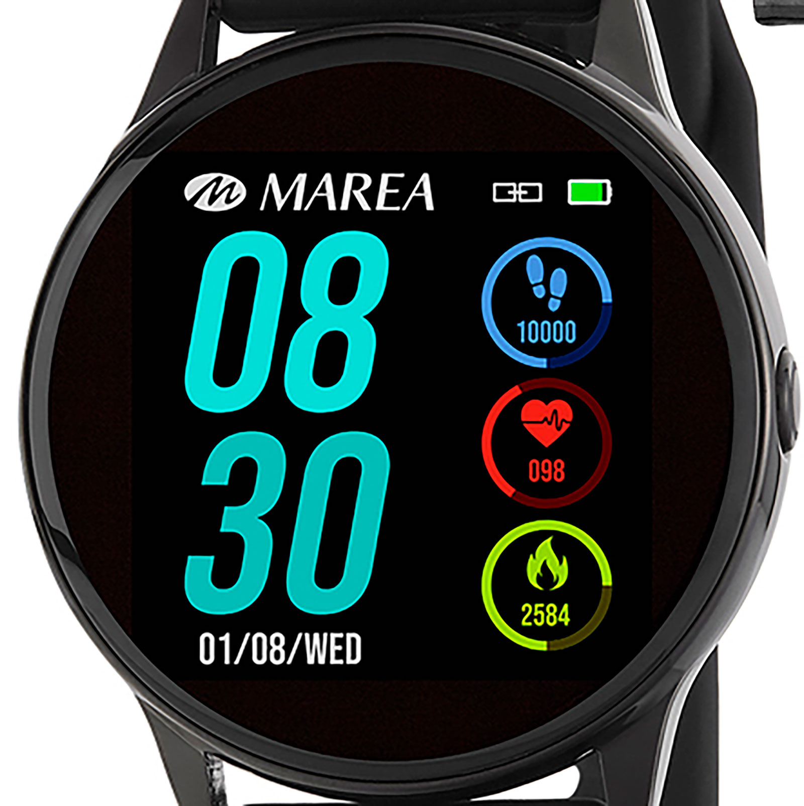 Marea Smart Watch B58001/1 -Svart