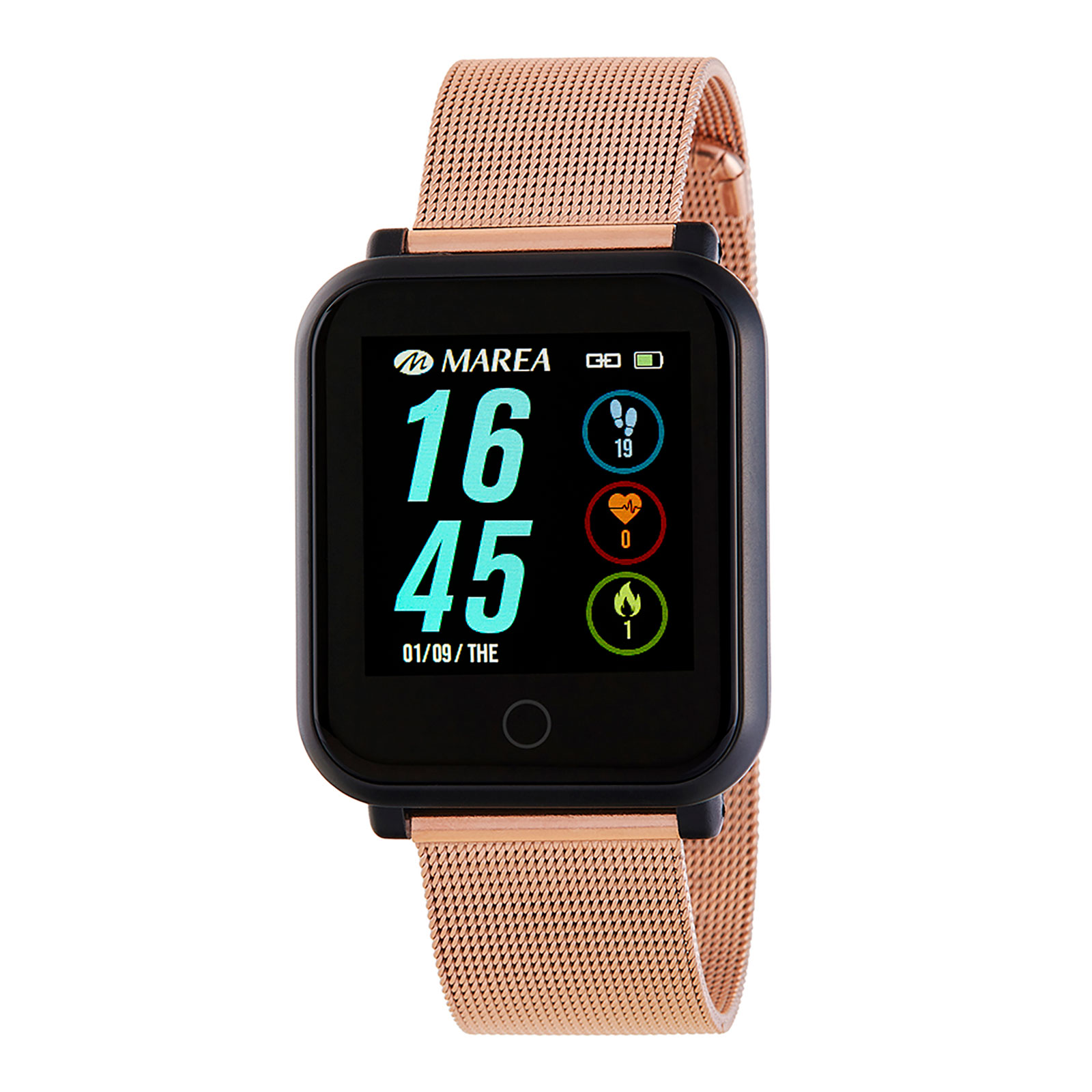 Marea Smart Watch B57002/6 -Rose