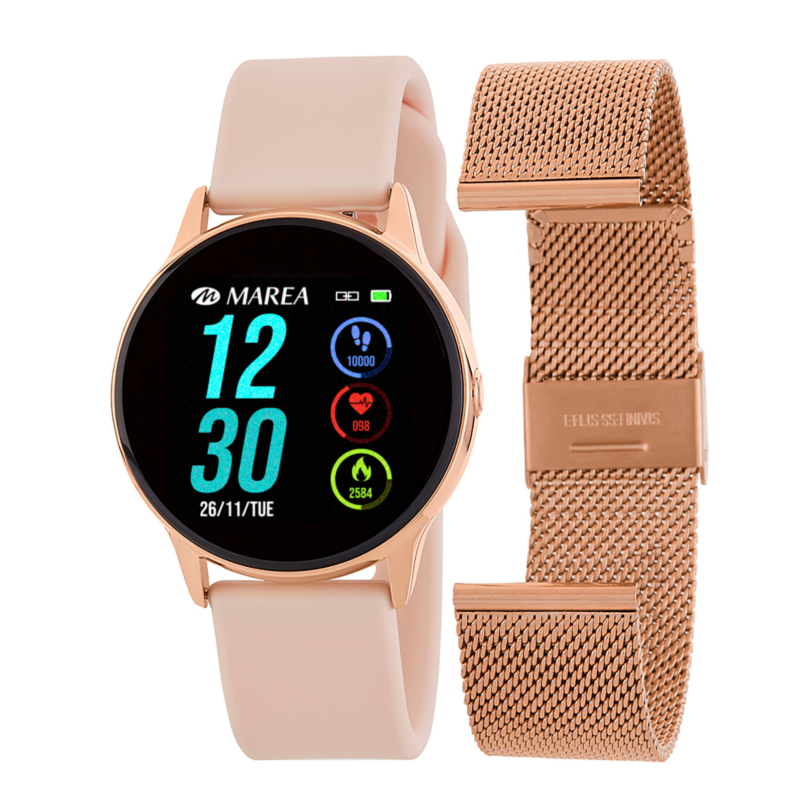 Marea Smart Watch B58001/4 - Rose