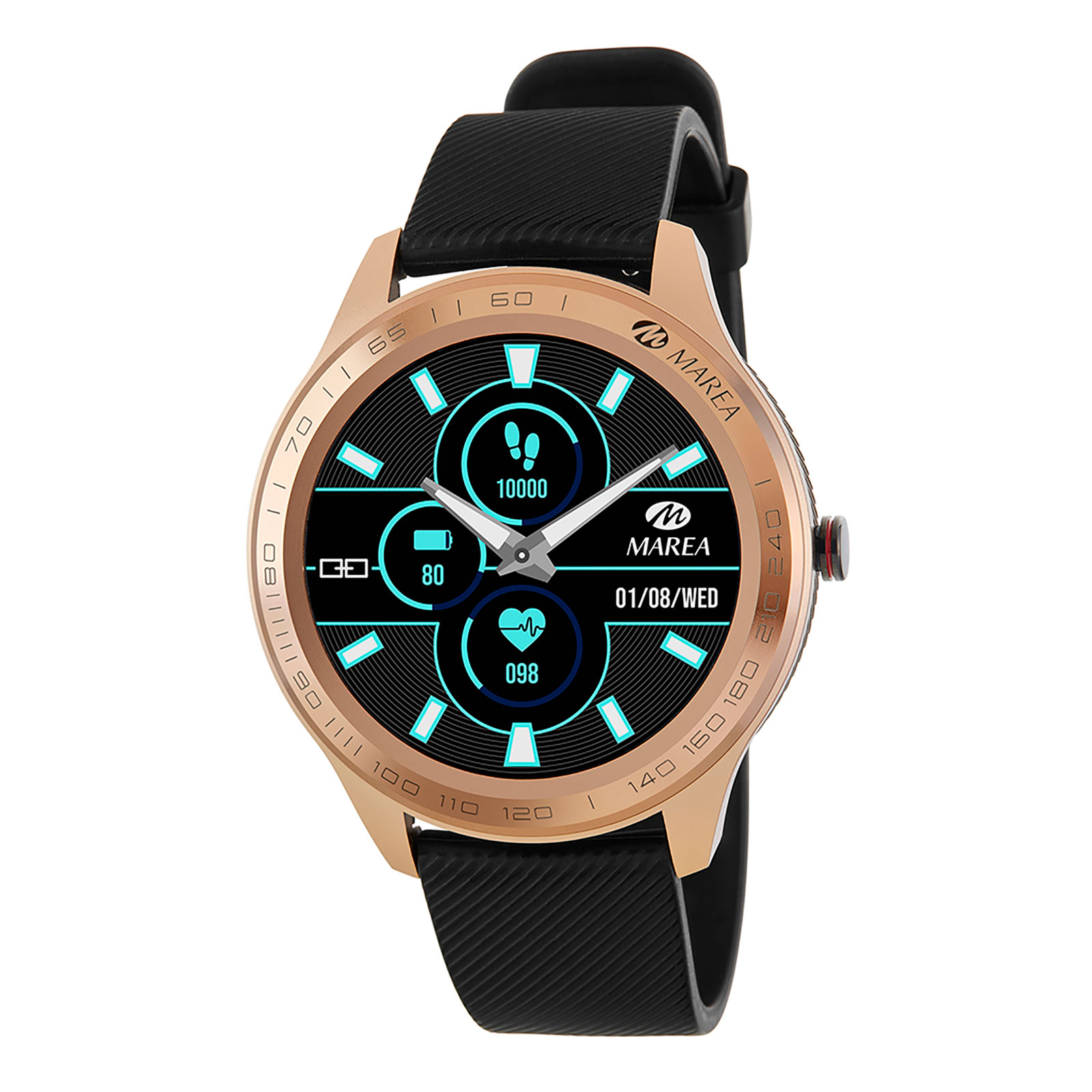 Marea Smart Watch B60001/4 -Svart/Guld