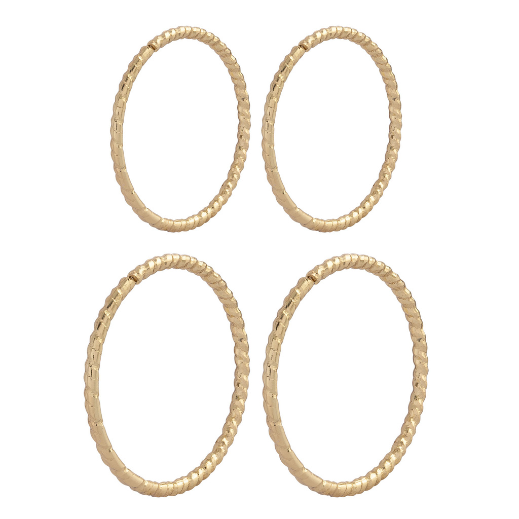2-pack örhängen hoops