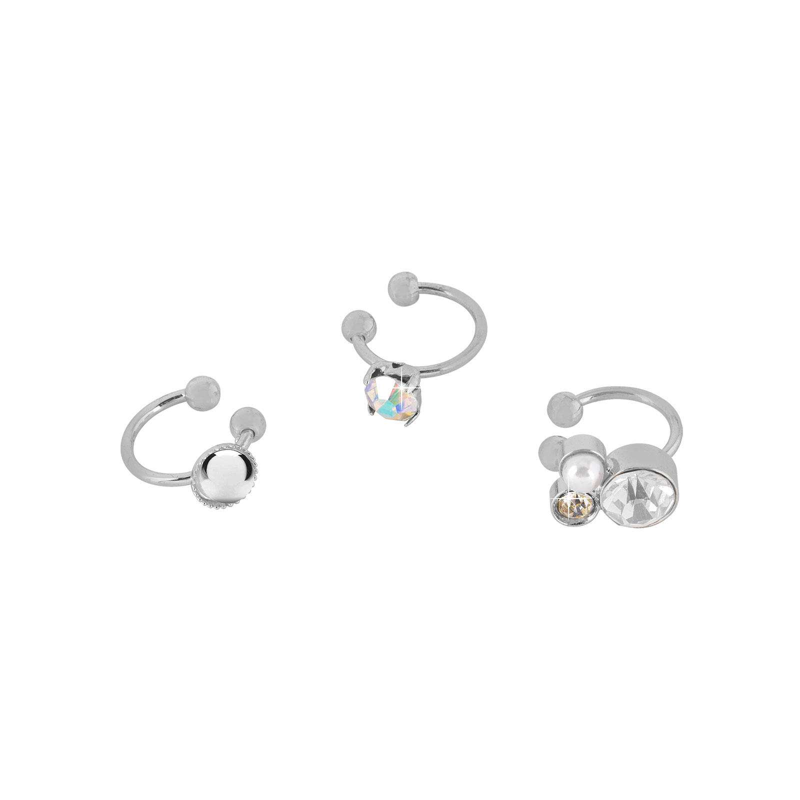 3-pack Ear cuffs Montini