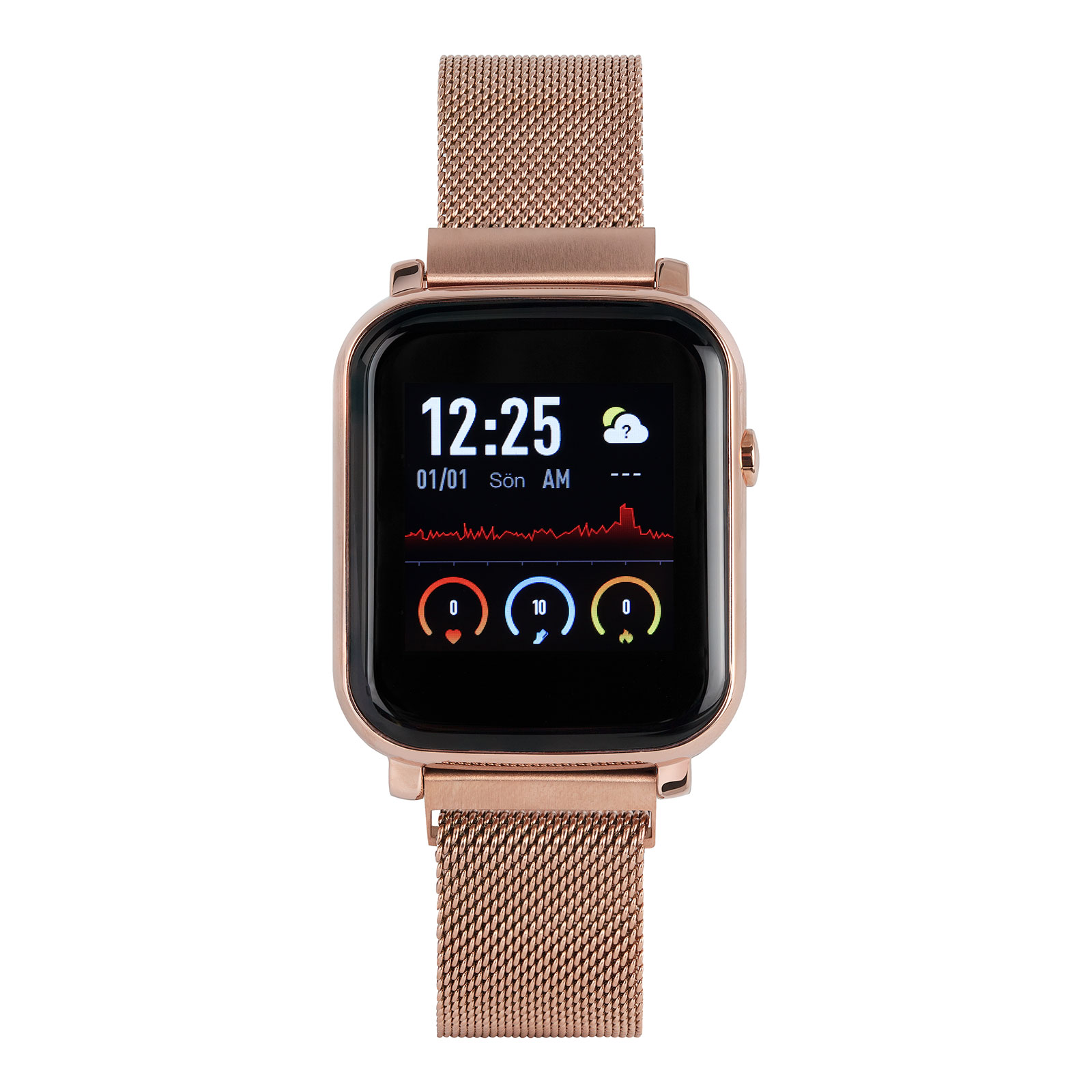Smart Watch N61 - Rose Gold